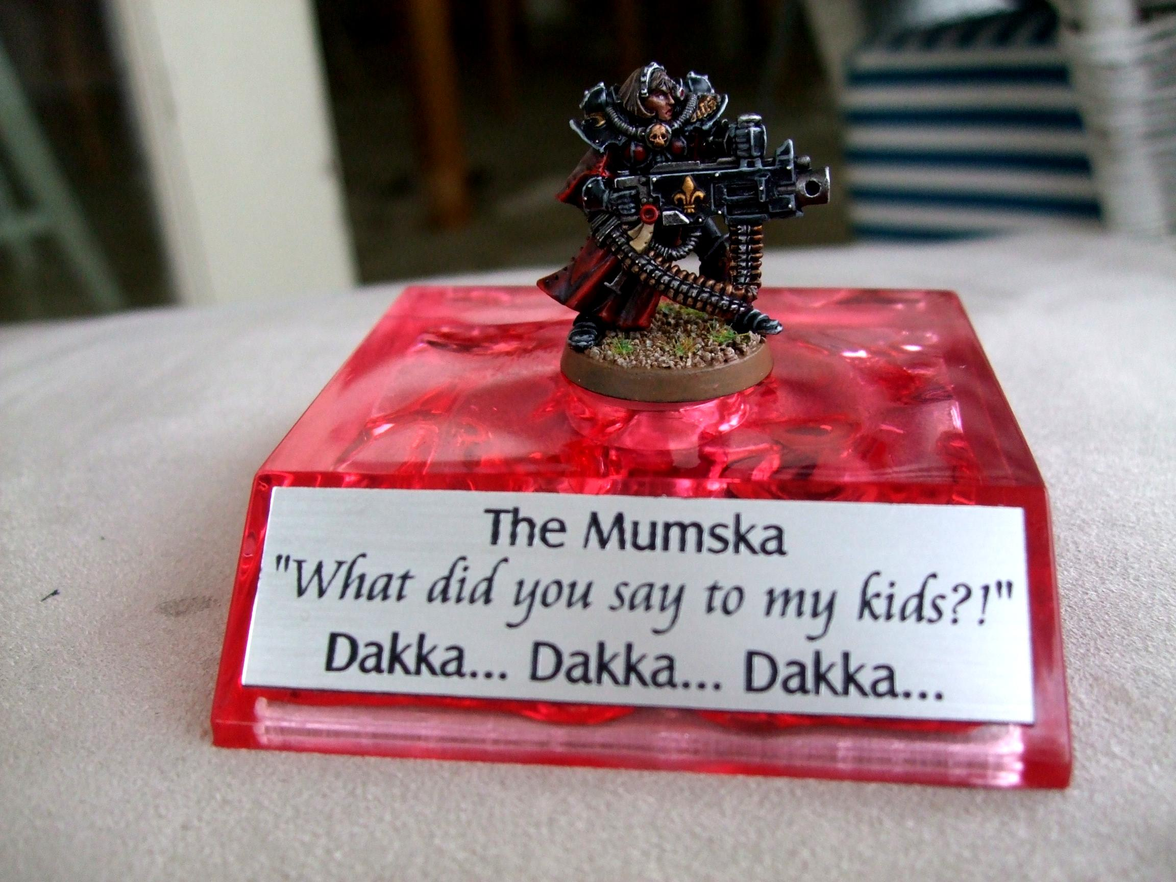 Black, Dakka Dakka, Heavy Bolter, Humor, Humour, Mother, Red, Sisters Of Battle