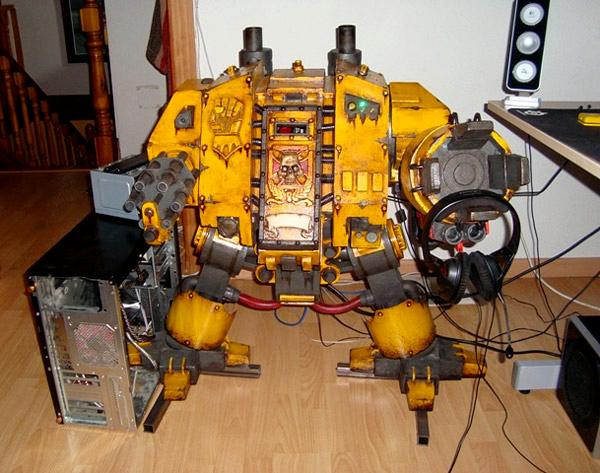 Awesome, Computer Case, Dreadnought, Epic, Imperial Fists, Space Marines