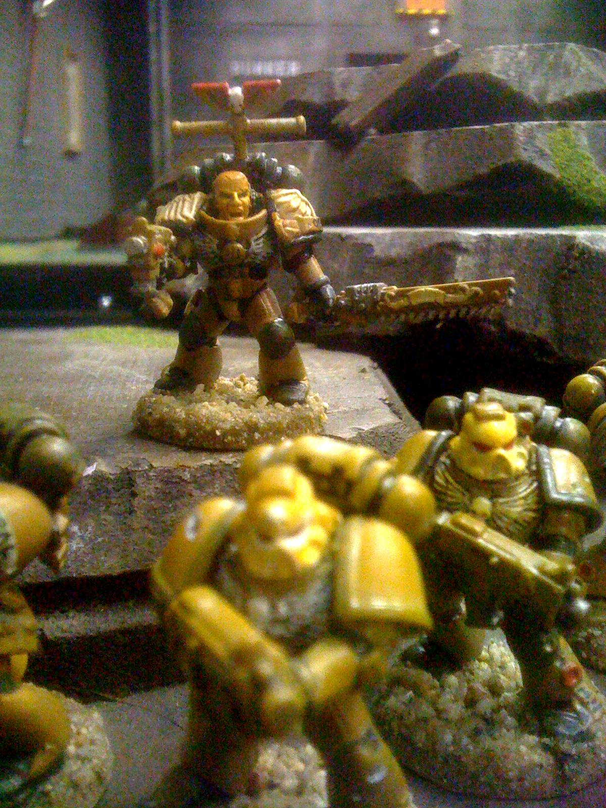 Desert, Desert Chapter, Desert Theme, Shadowbreakers, Space Marines, Tactical Squad, The Battle Standard