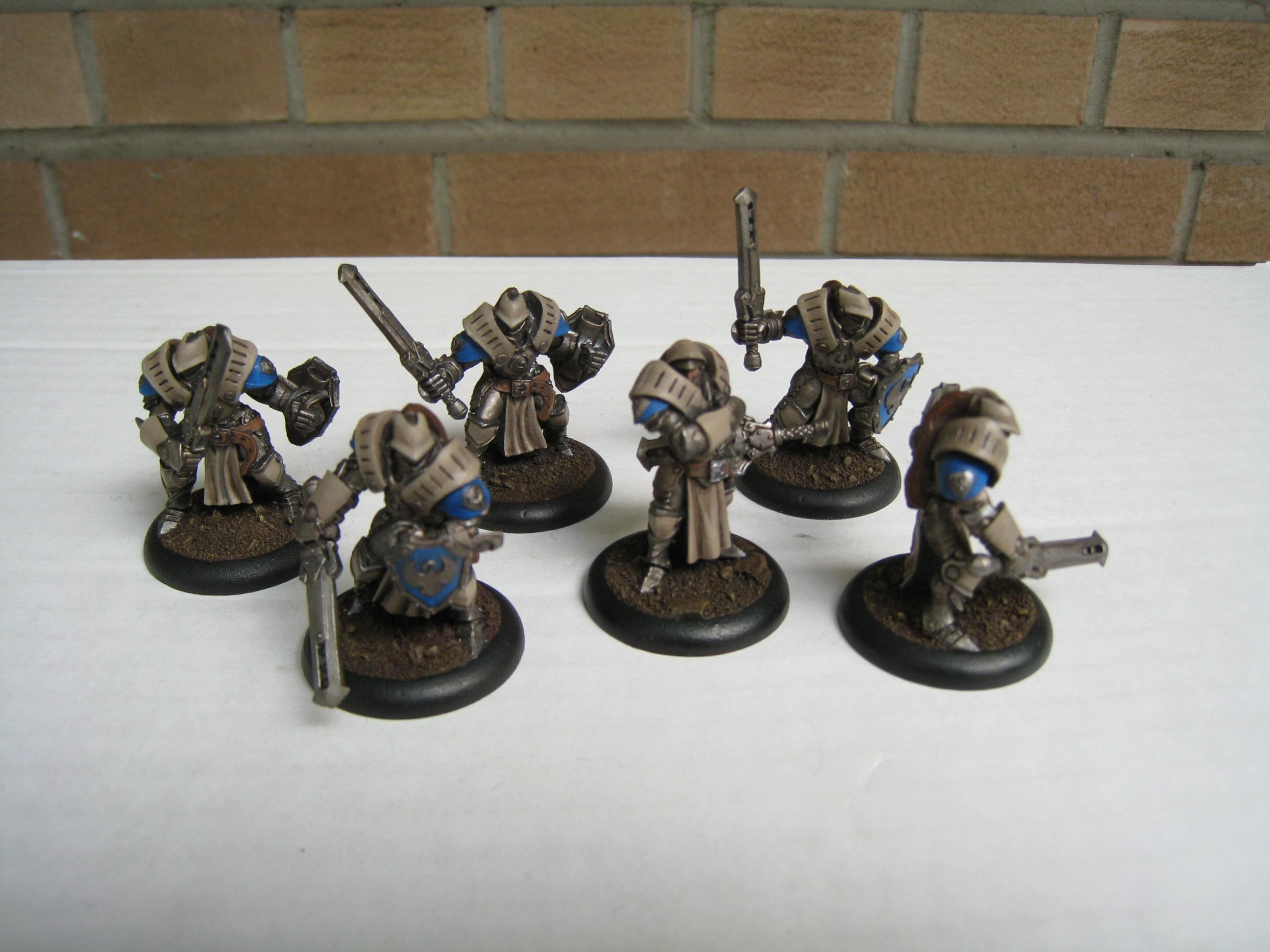 Cygnar, Sword Knight, Unit, Warmachine