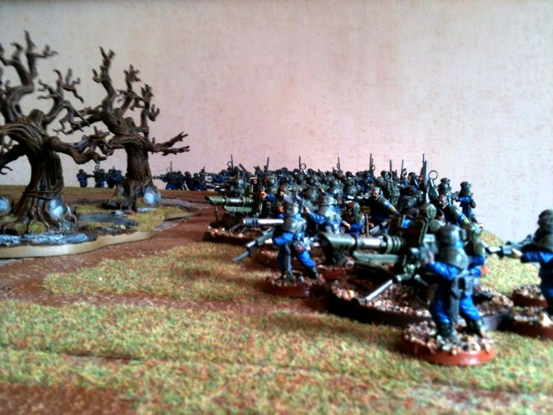 Imperial Guard, Massed Infantry