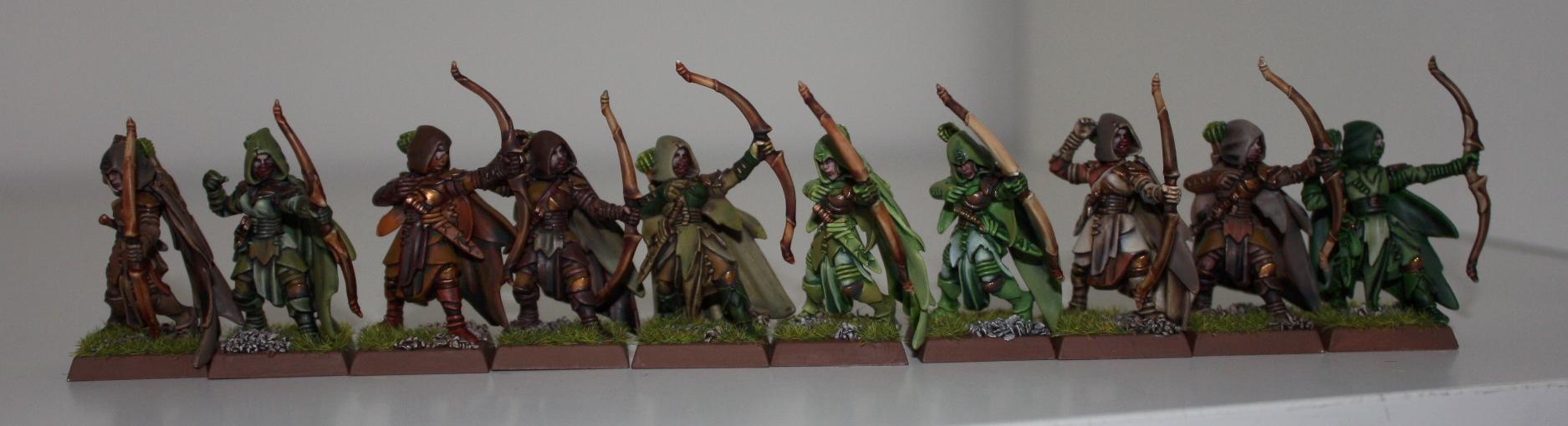 Archers, Bowmen, Cloaks, Infantry