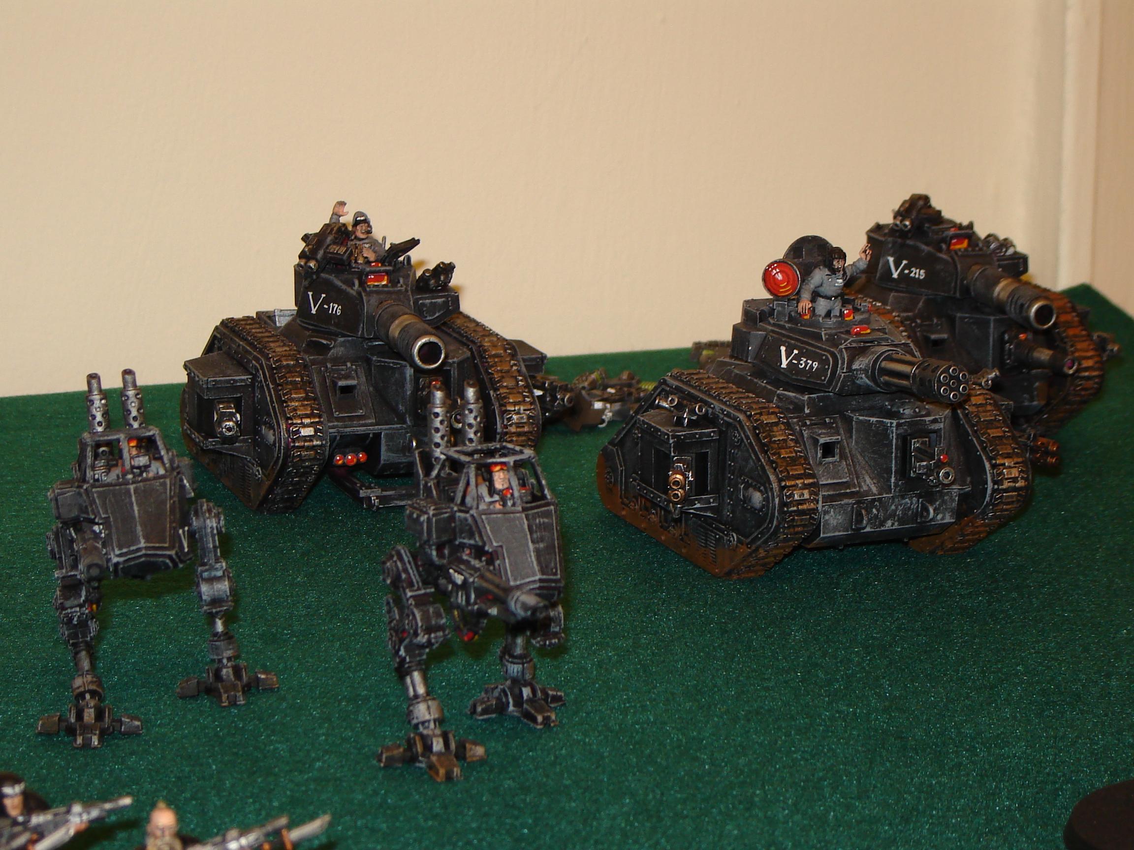 Black, Imperial Guard, Lemon Russ, Tank