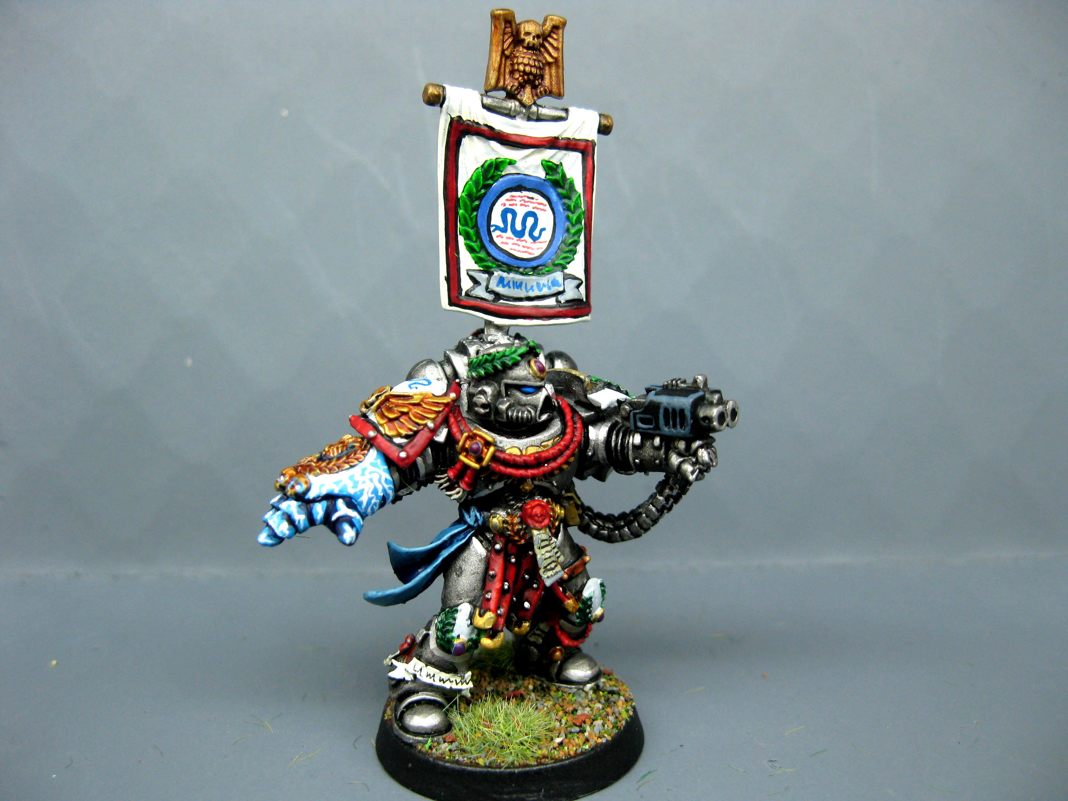 Captain, Cool, Iron Snakes, Painted, Power Fist, Pro Painted, Space Marines, Warhammer 40,000
