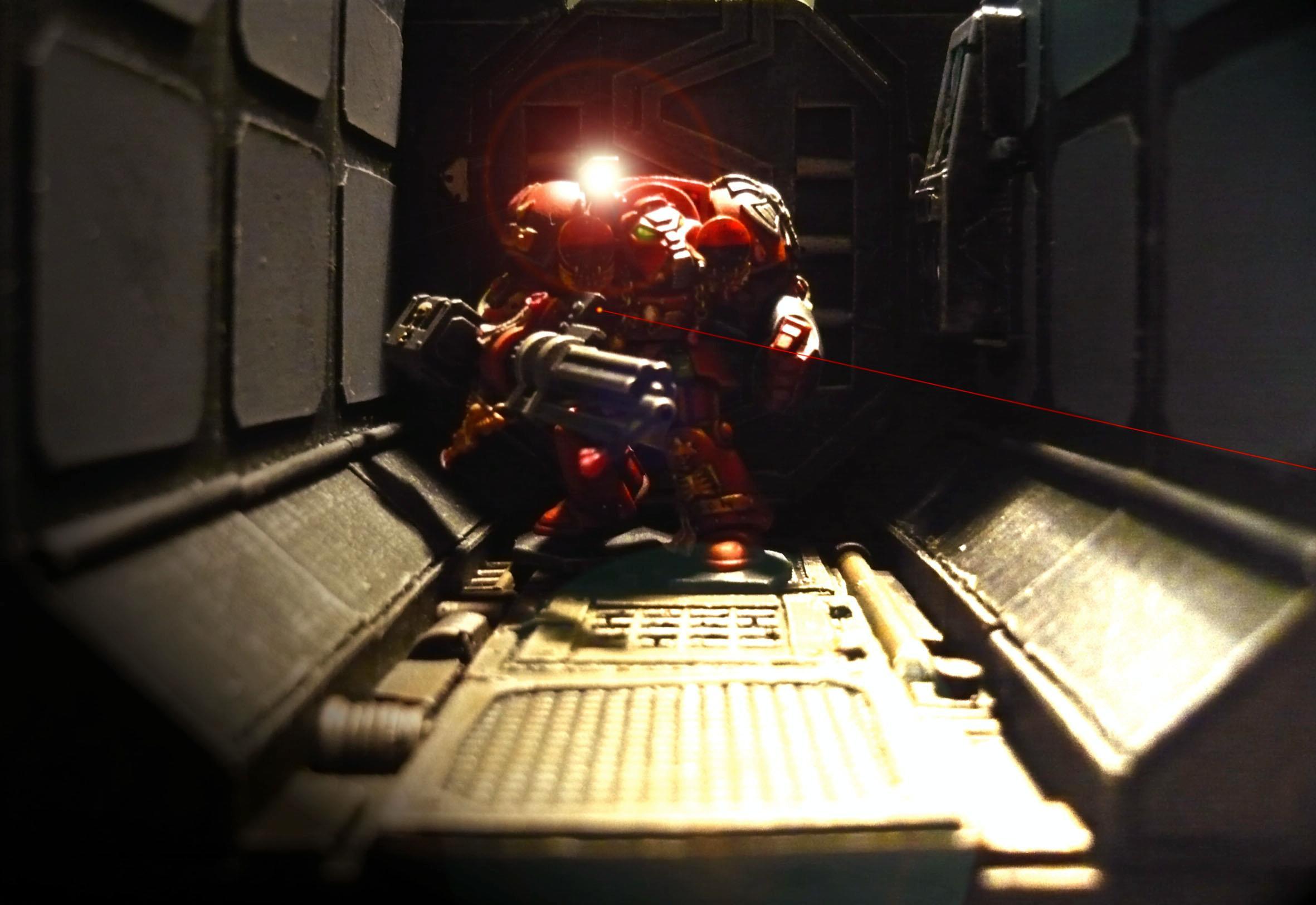 Background, Blood Angels, Hulk, LED, Photo, Red, Space, Space Hulk, Space Marines, Starship, Terminator Armor, Terrain
