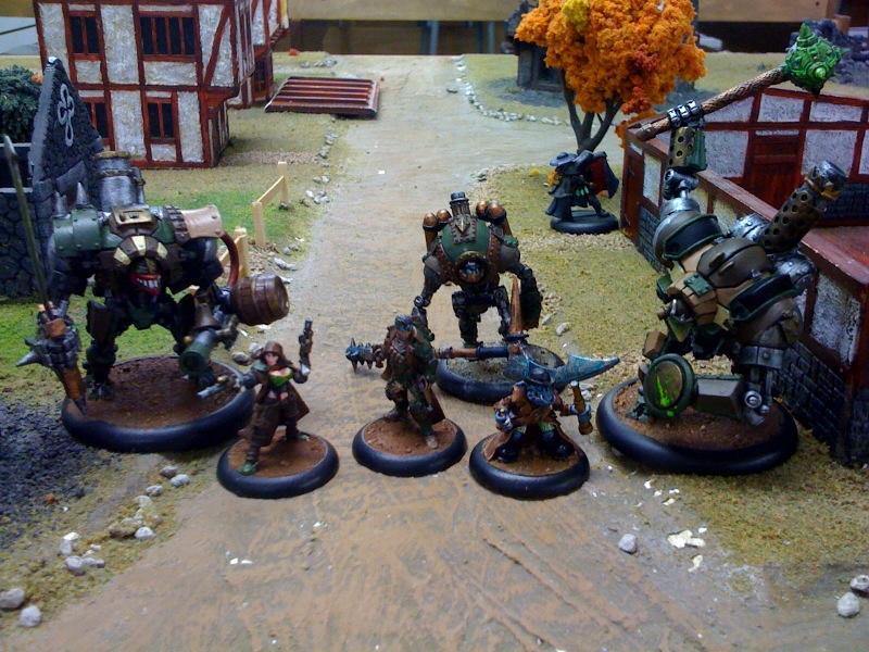 Freebooters, Mercenary, Town, Warjack, Warmachine