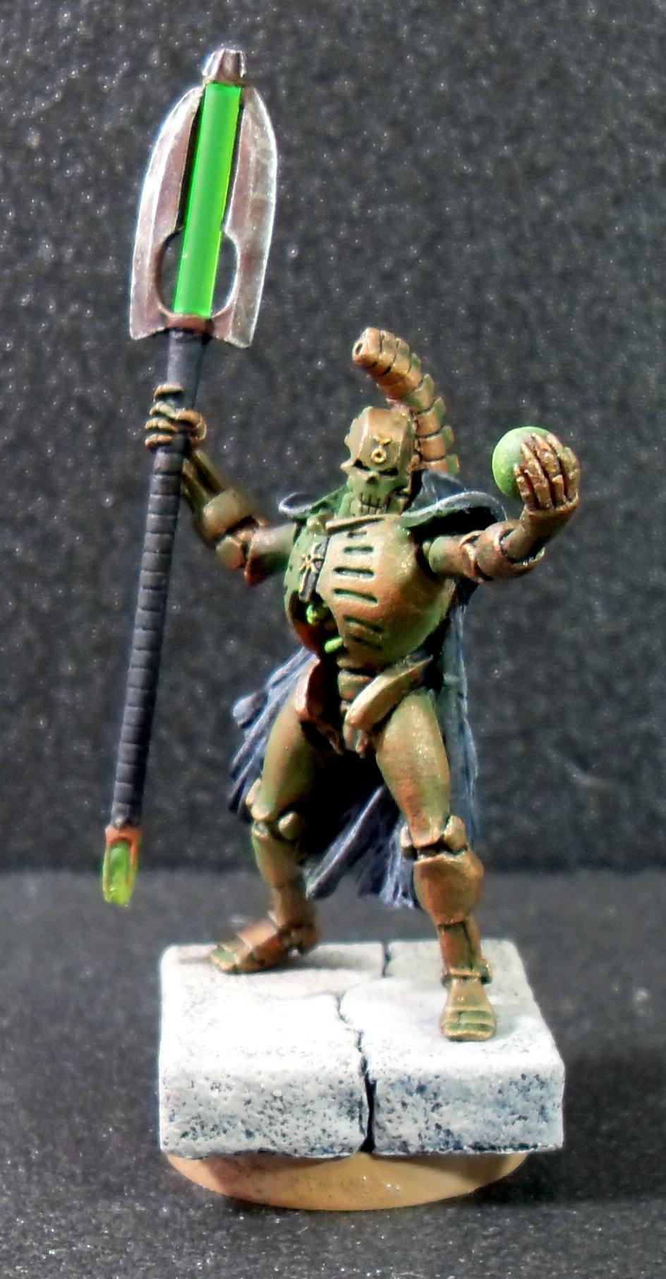 Lord, Necrons, Necron Lord with Orb