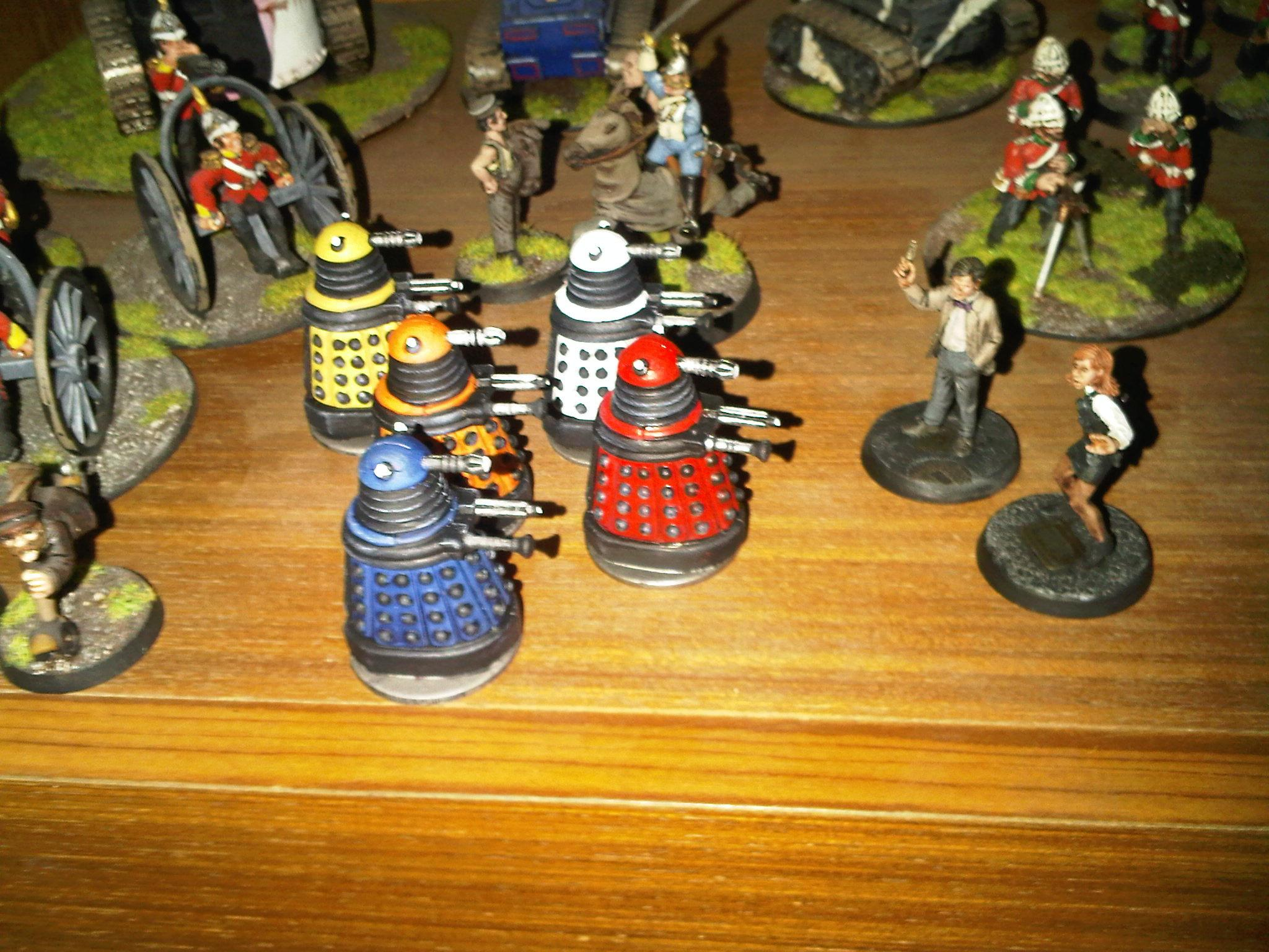 Deadzone, Dr What and the Daleks