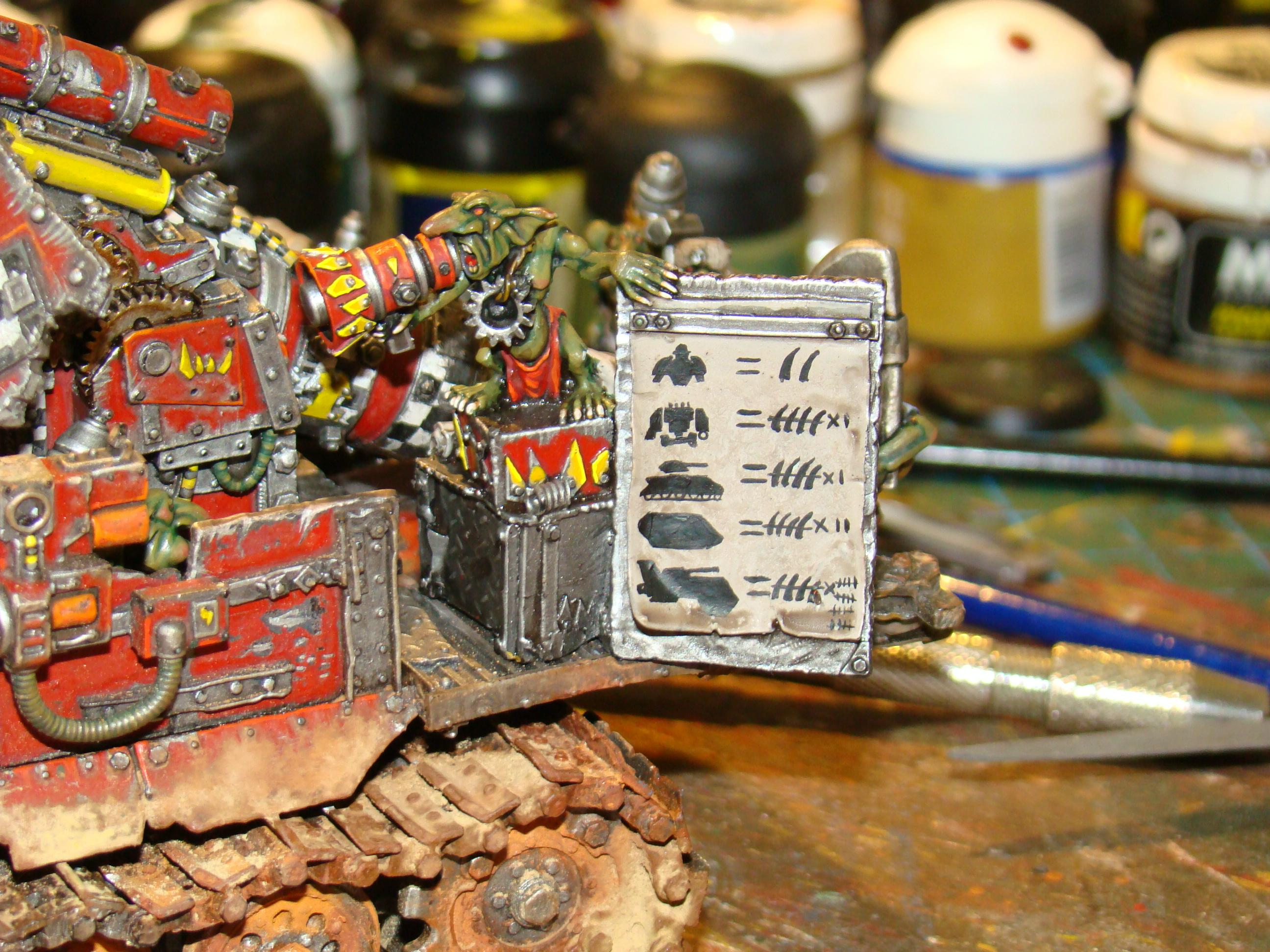 Humor, Orks, Track, Weathered