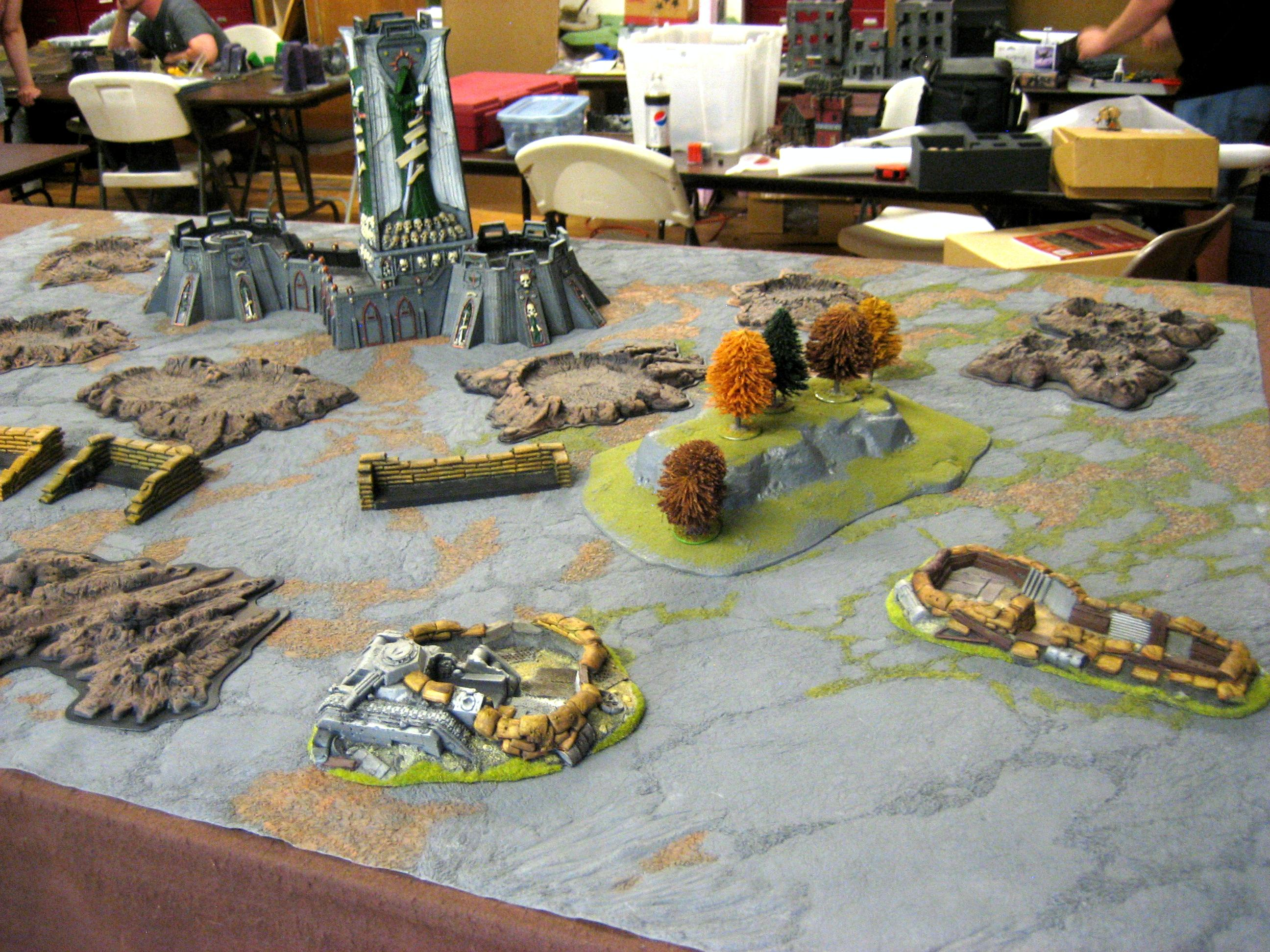 Battle Report, Deathwing, Fortress Of Redemption, Imperial Guard
