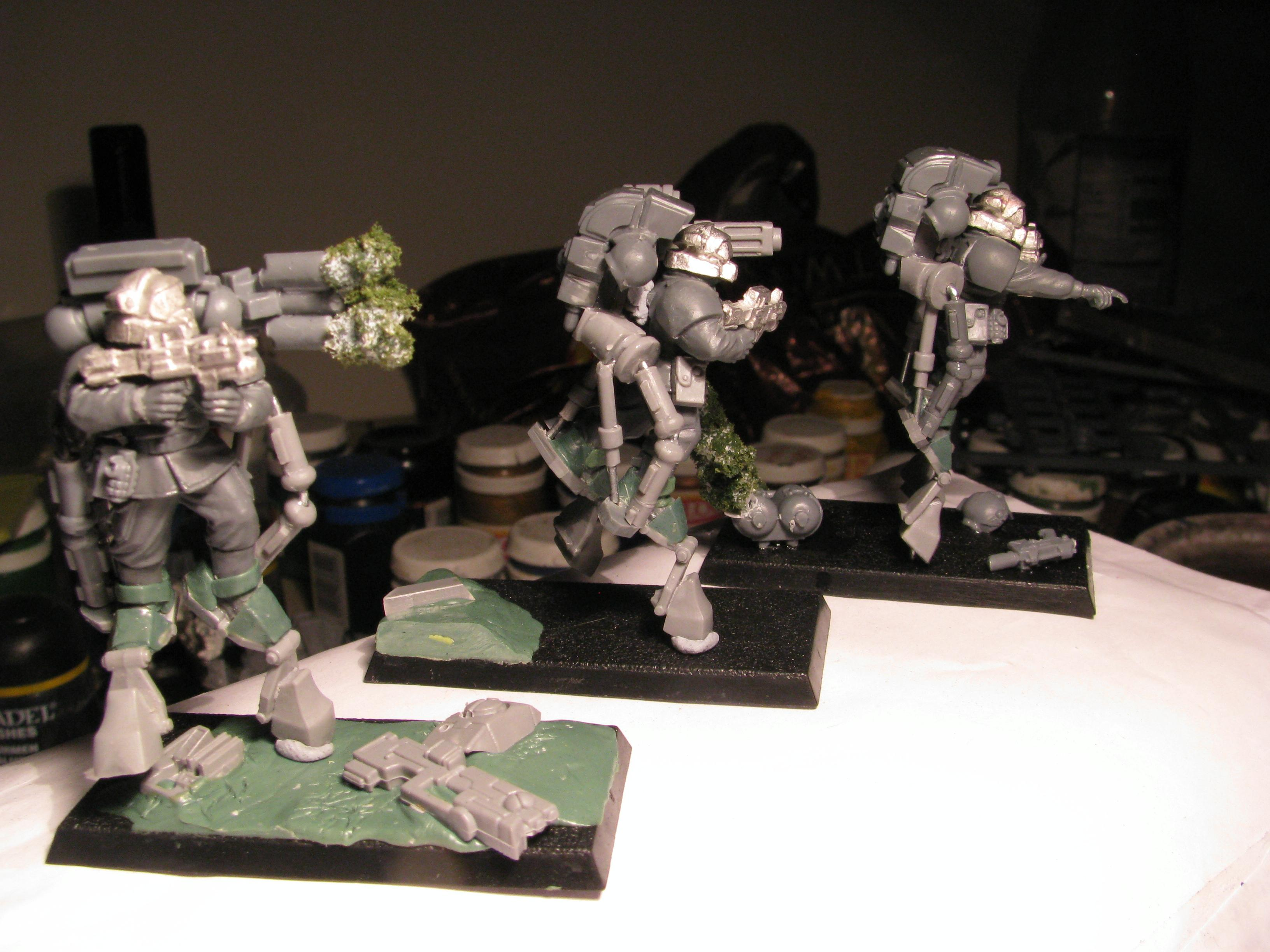 Conversion, Guard, Meltagun, Rough Riders
