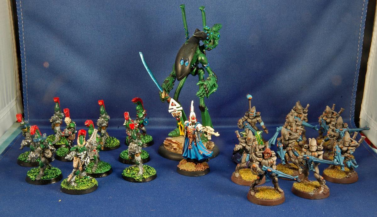 Battle Report, Warhammer 40,000