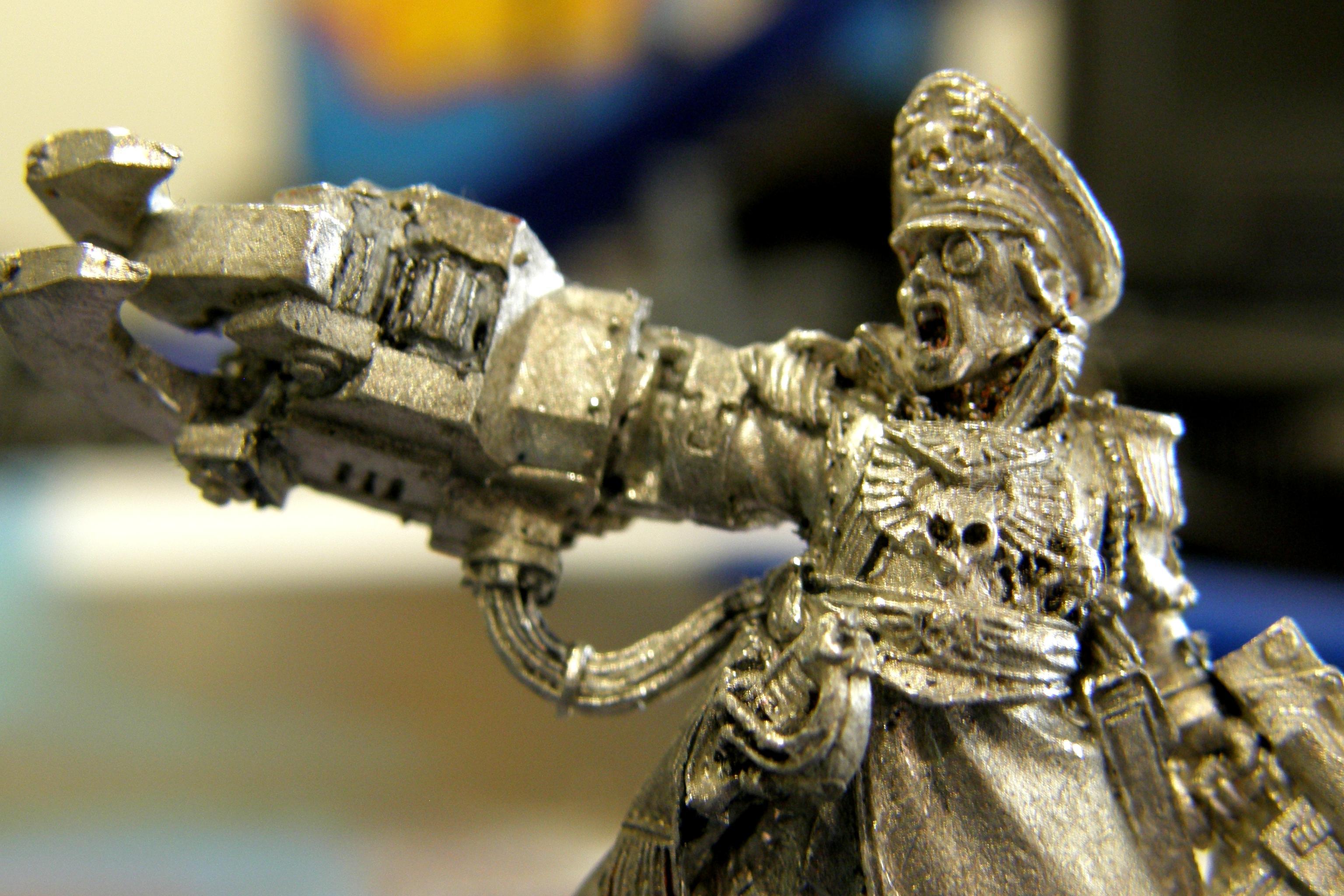 Imperial Guard, Metals, Painting, Repaint, Work In Progress