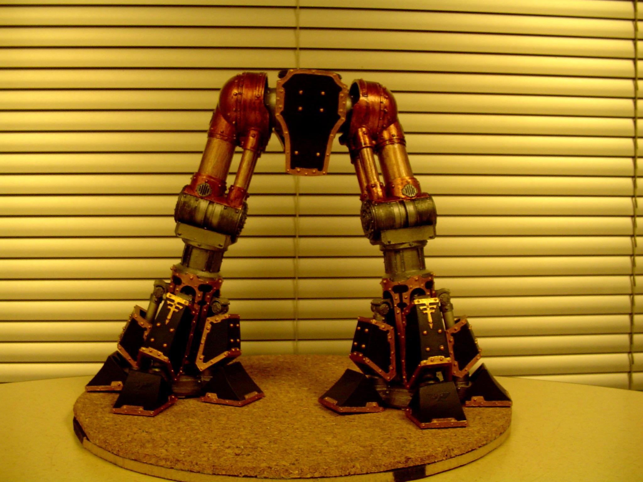 Reaver titan legs and feet