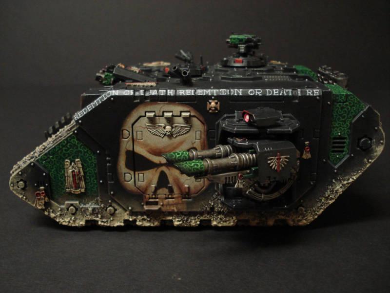 Freehand, Land Raider, Skull, Warhammer 40,000