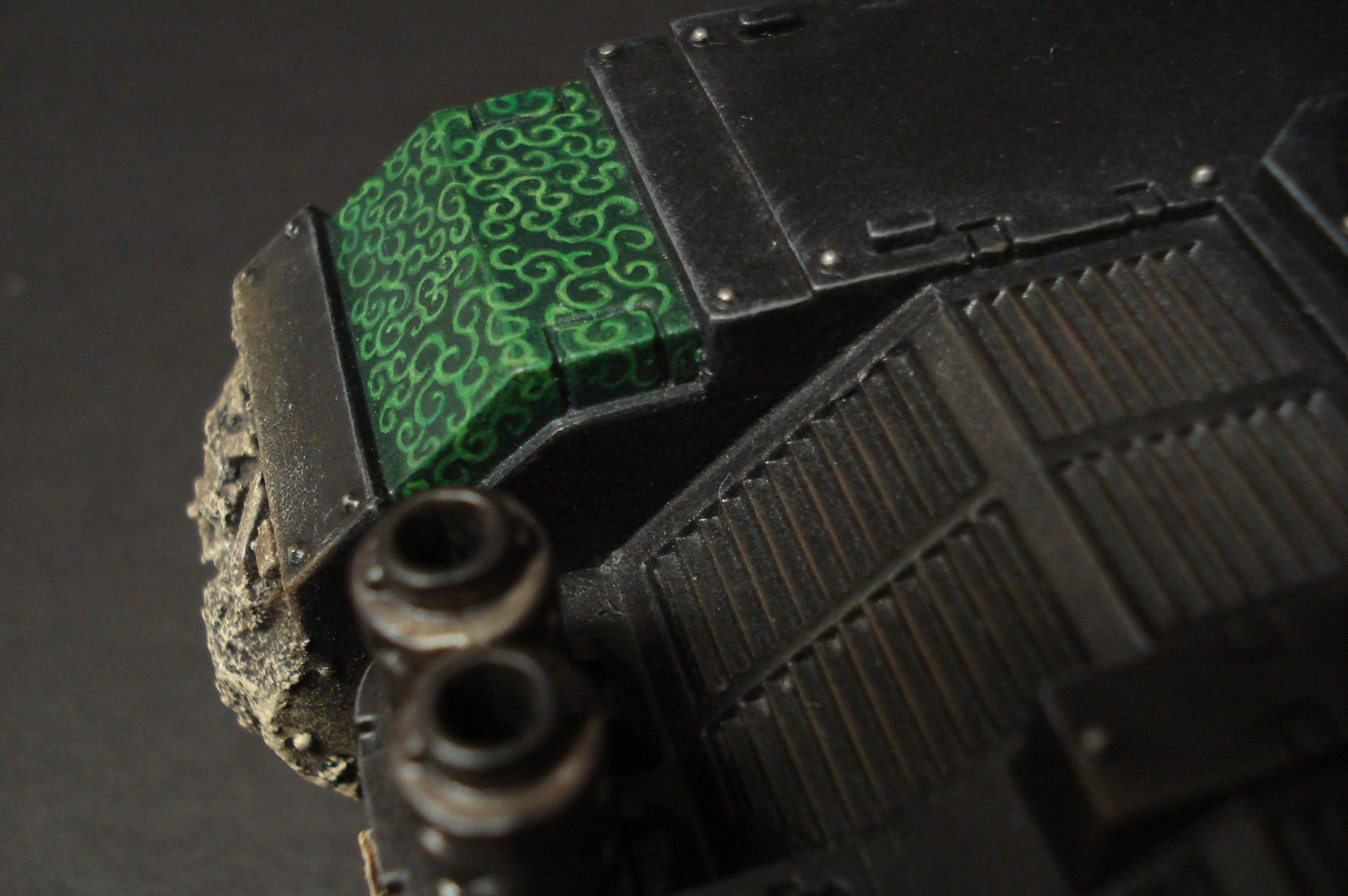 Details, Land Raider, Pattern