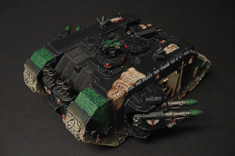 Dark Angels, Freehand, Land Raider, Phobos, Space Marines, Warhammer 40,000