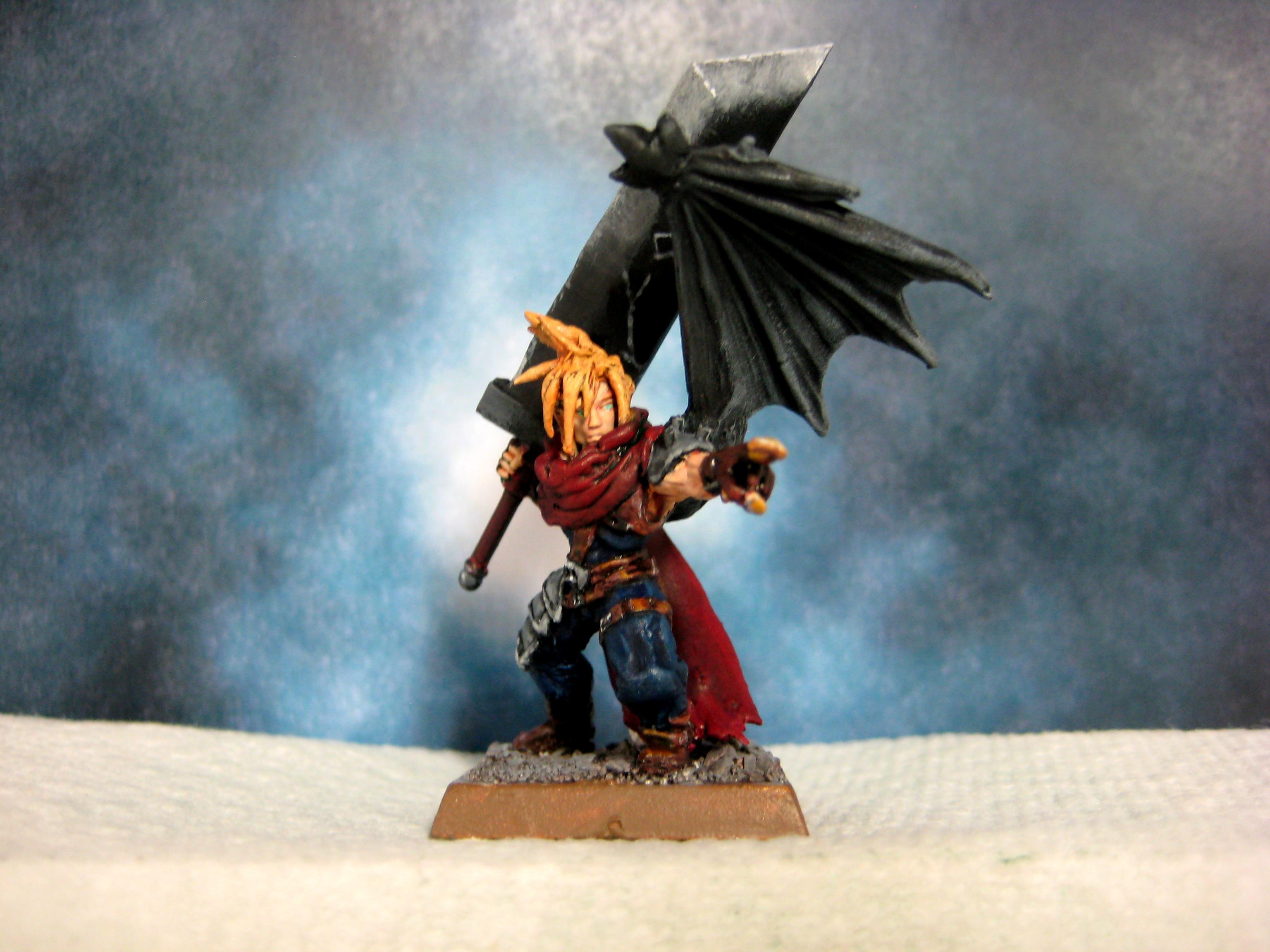Cloud, Cloud Strife, Conversion, Warhammer Fantasy, Warhammer Quest
