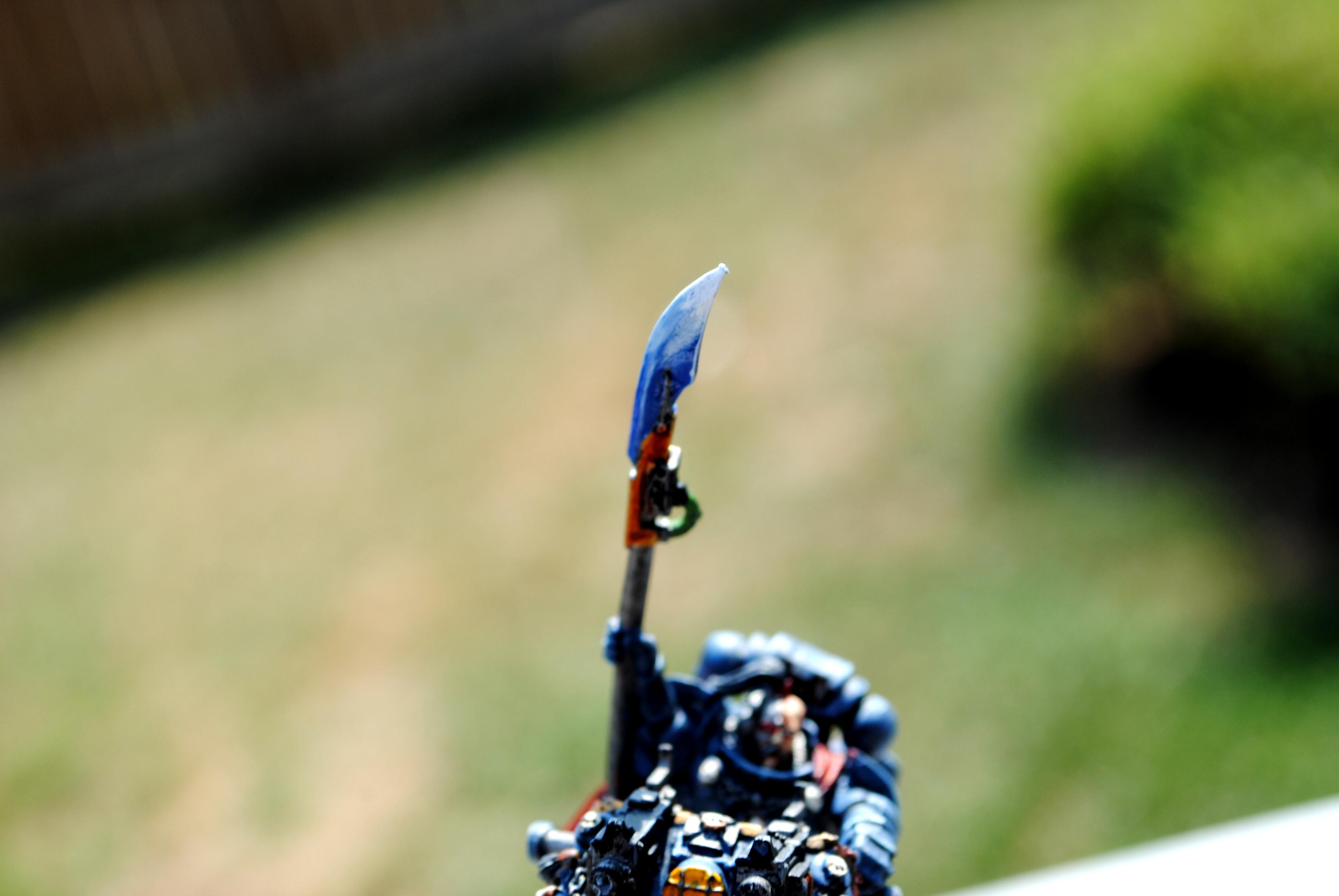 Bike, Commander, Power Weapon, Space Wolves