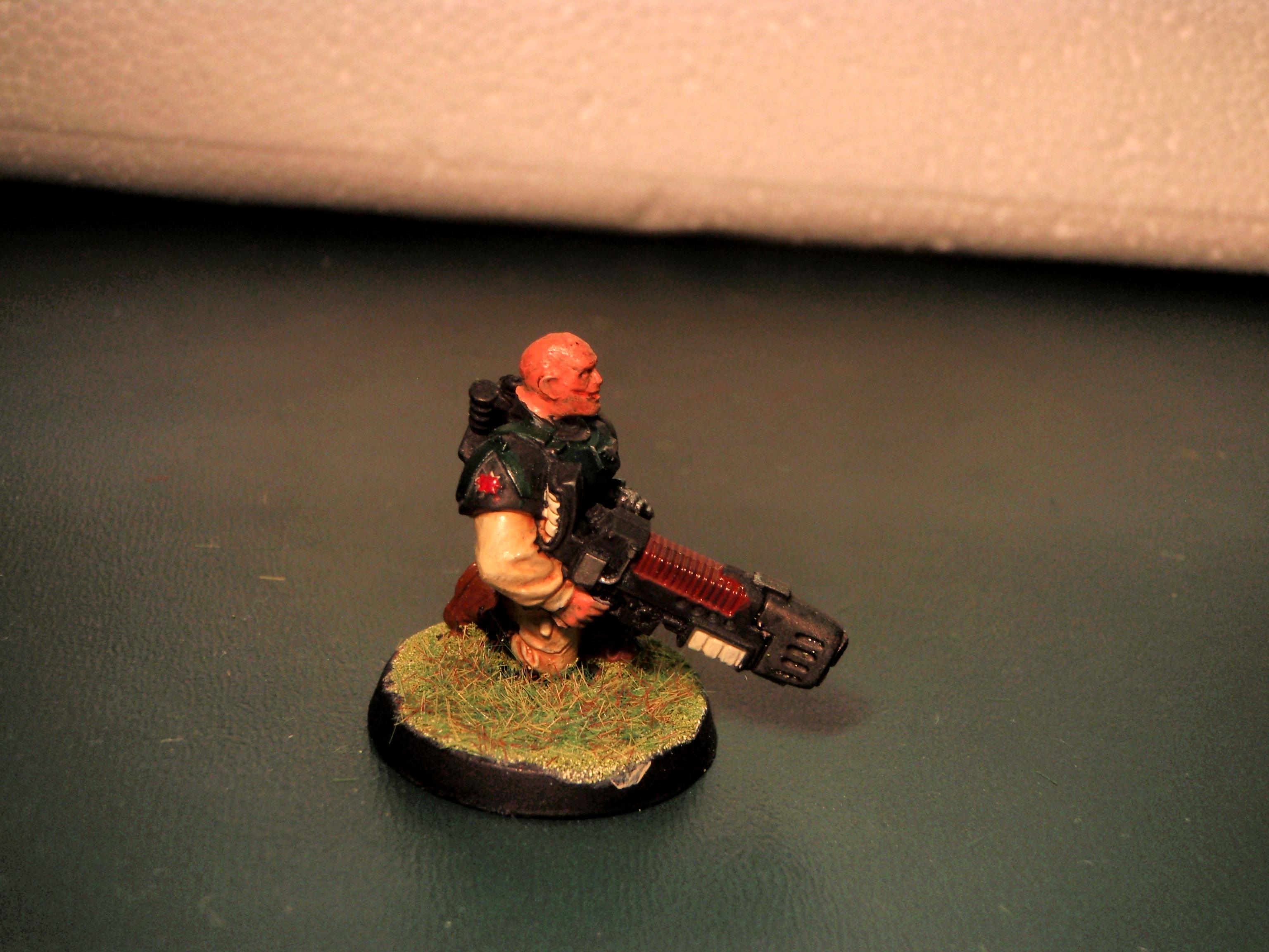 Company Command, Imperial Guard