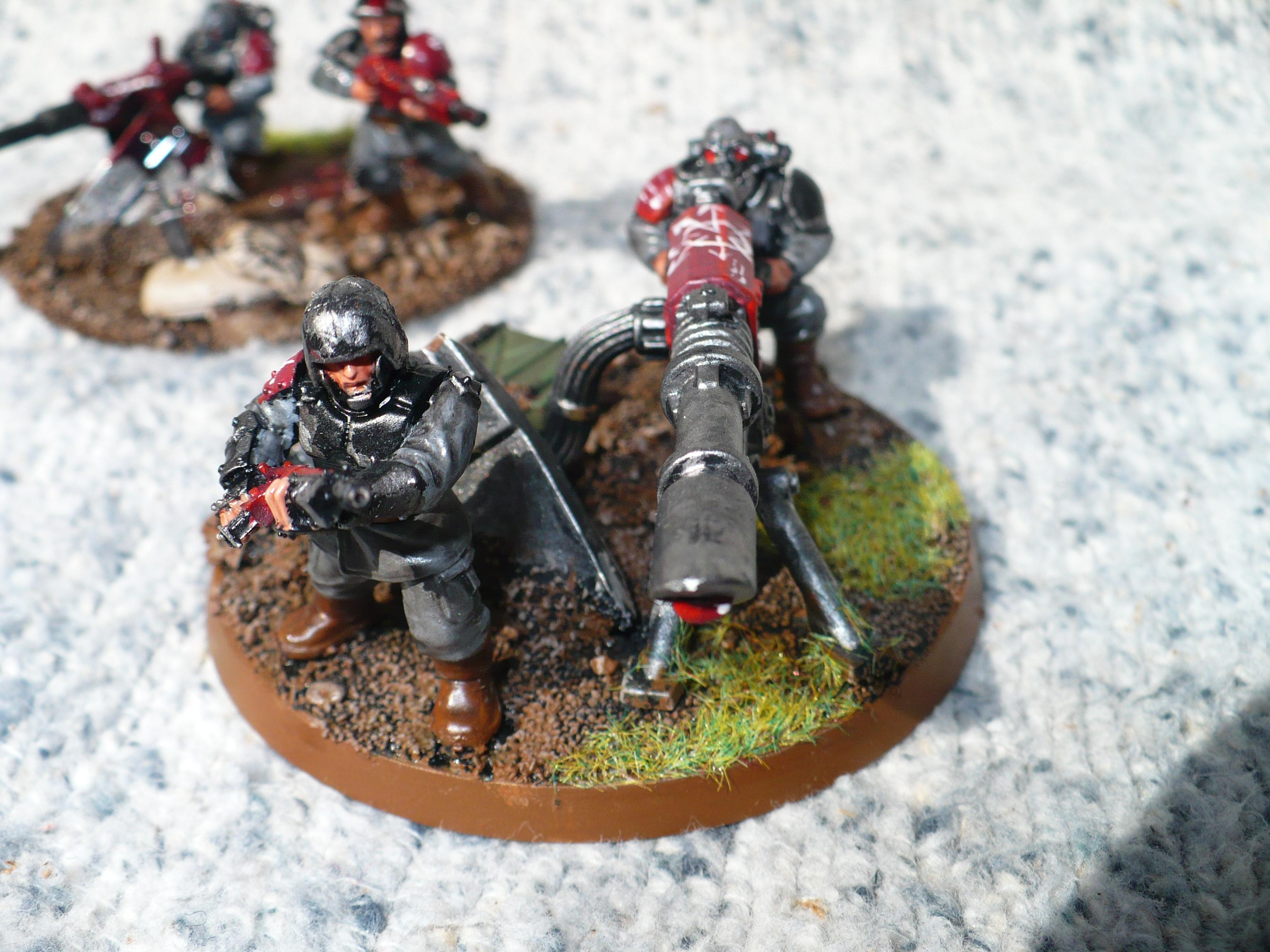 Chaos, Lost And The Damned, Painted, Renegade, Traitor Guard, Warhammer 40,000