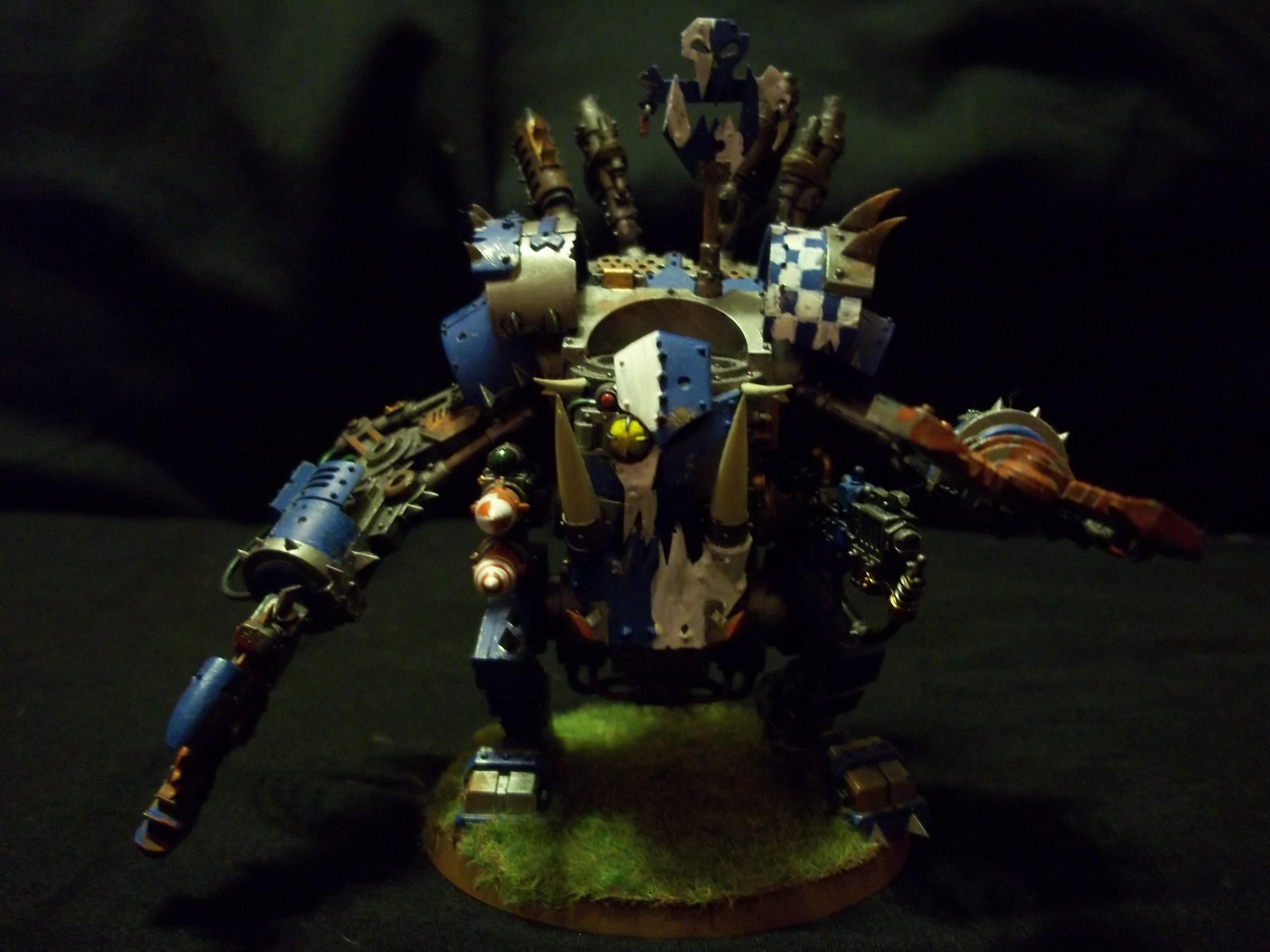 Deffdredd, Orks, Ork Death Skullz Deff Dread