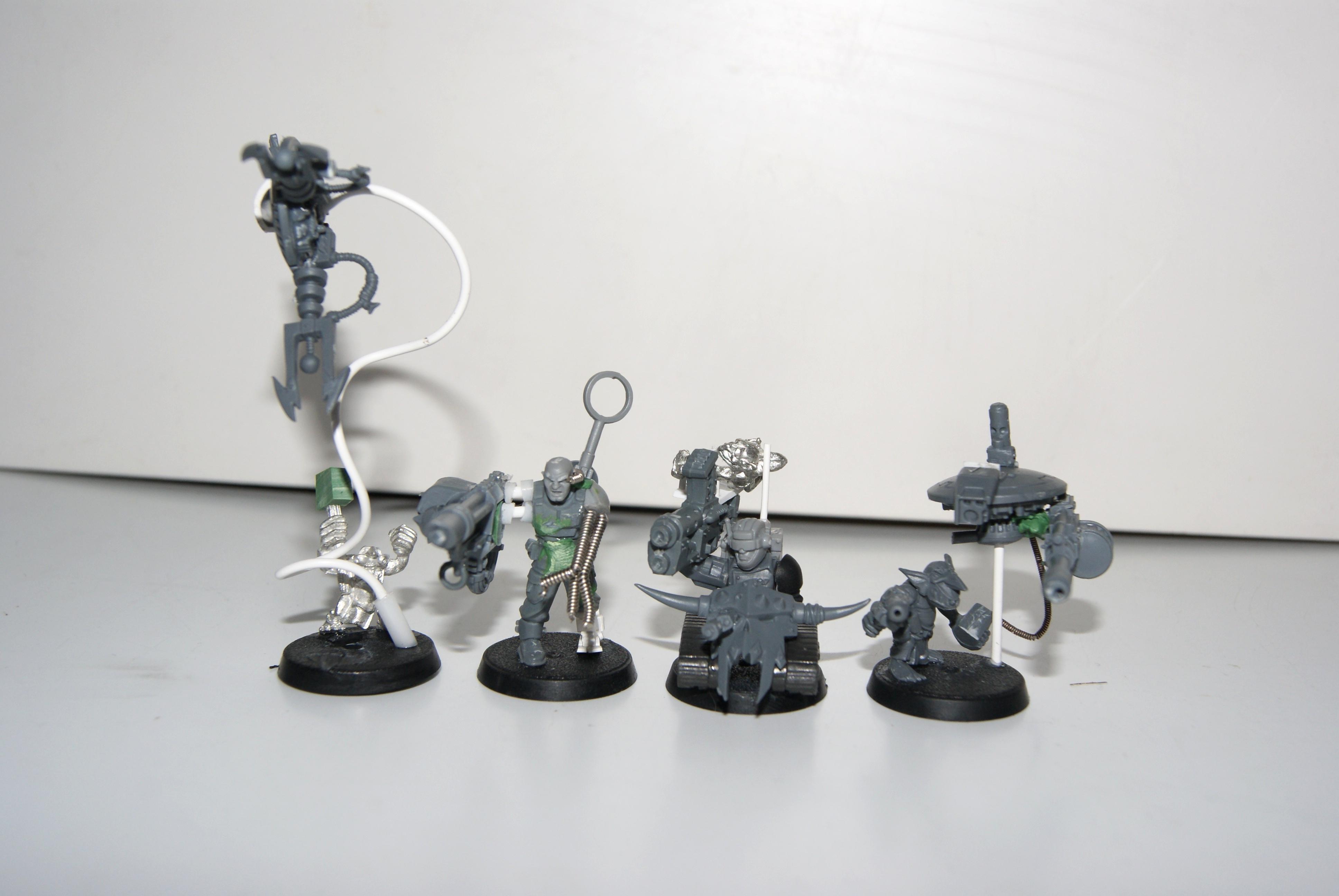 Conversion, Grot Rebellion, Grot Rebels, Grots, Lootas, Orks, Warhammer 40,000, Work In Progress