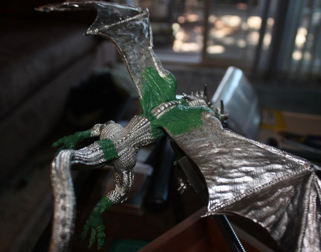 Diorama, Dragon, Temeraire