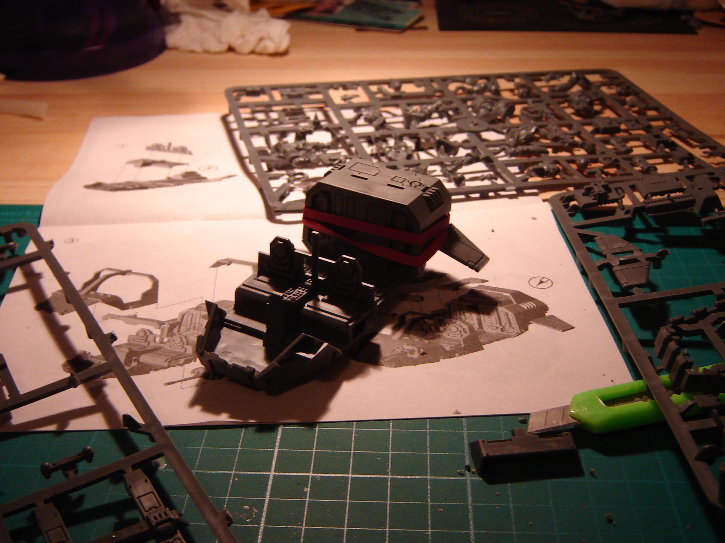 Land Speeder Storm first glueing..