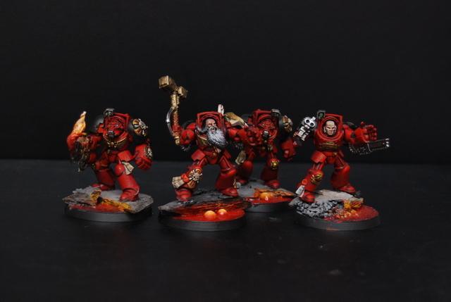Exorcists, Space Marines, Terminator Armor
