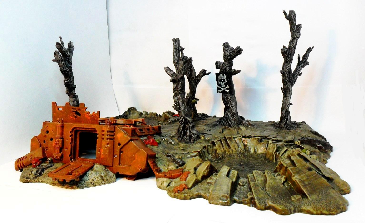 Battlescape, Rhino, Terrain - Crashed Rhino