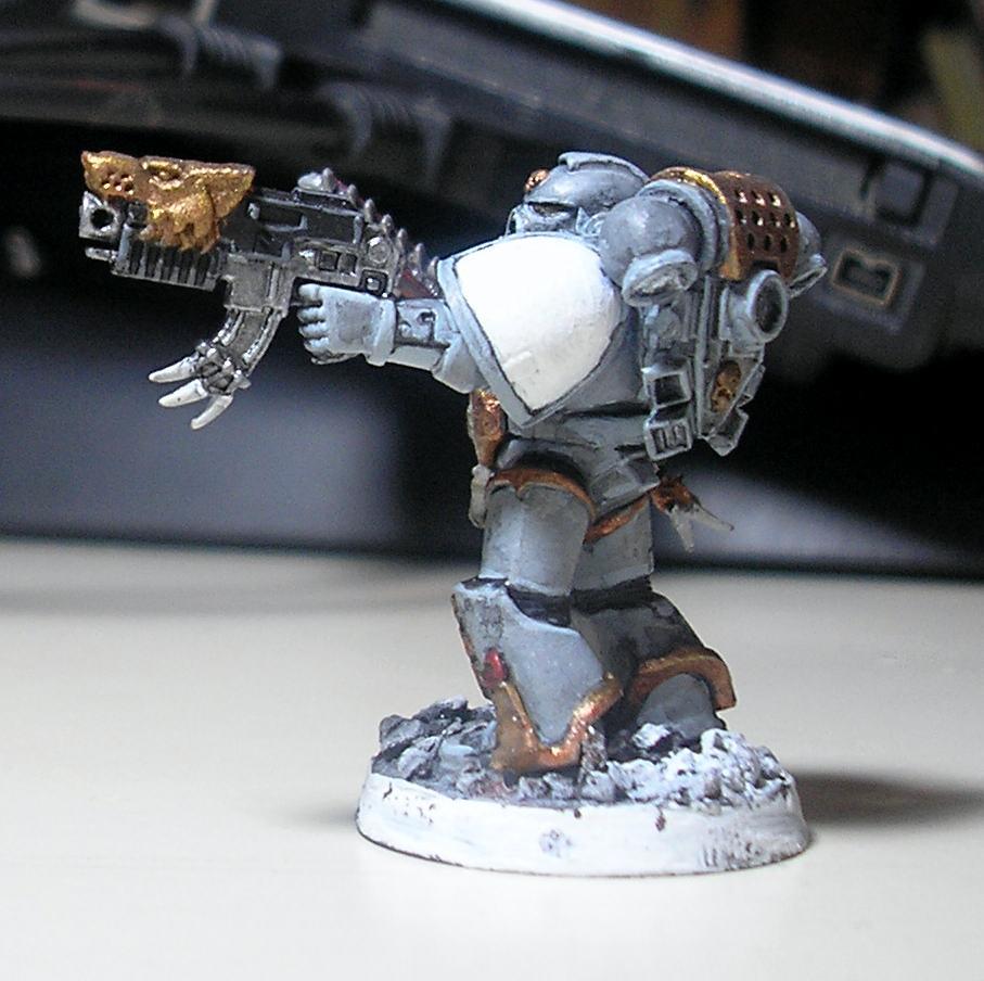 Grey Hunter, Space Marines, Space Wolves, Test, Warhammer 40,000, Work In Progress