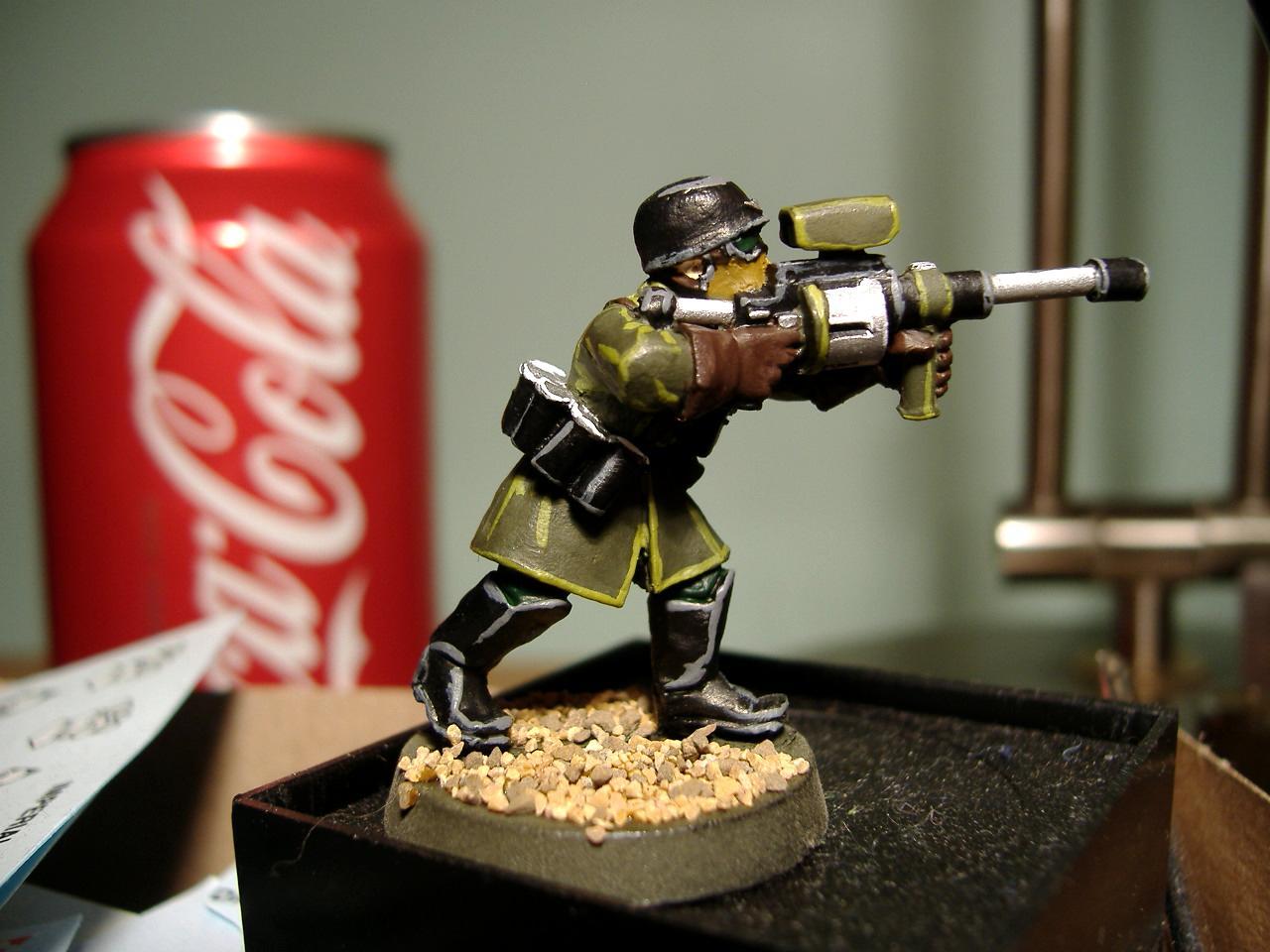 Sniper Rifle, Steel Legion