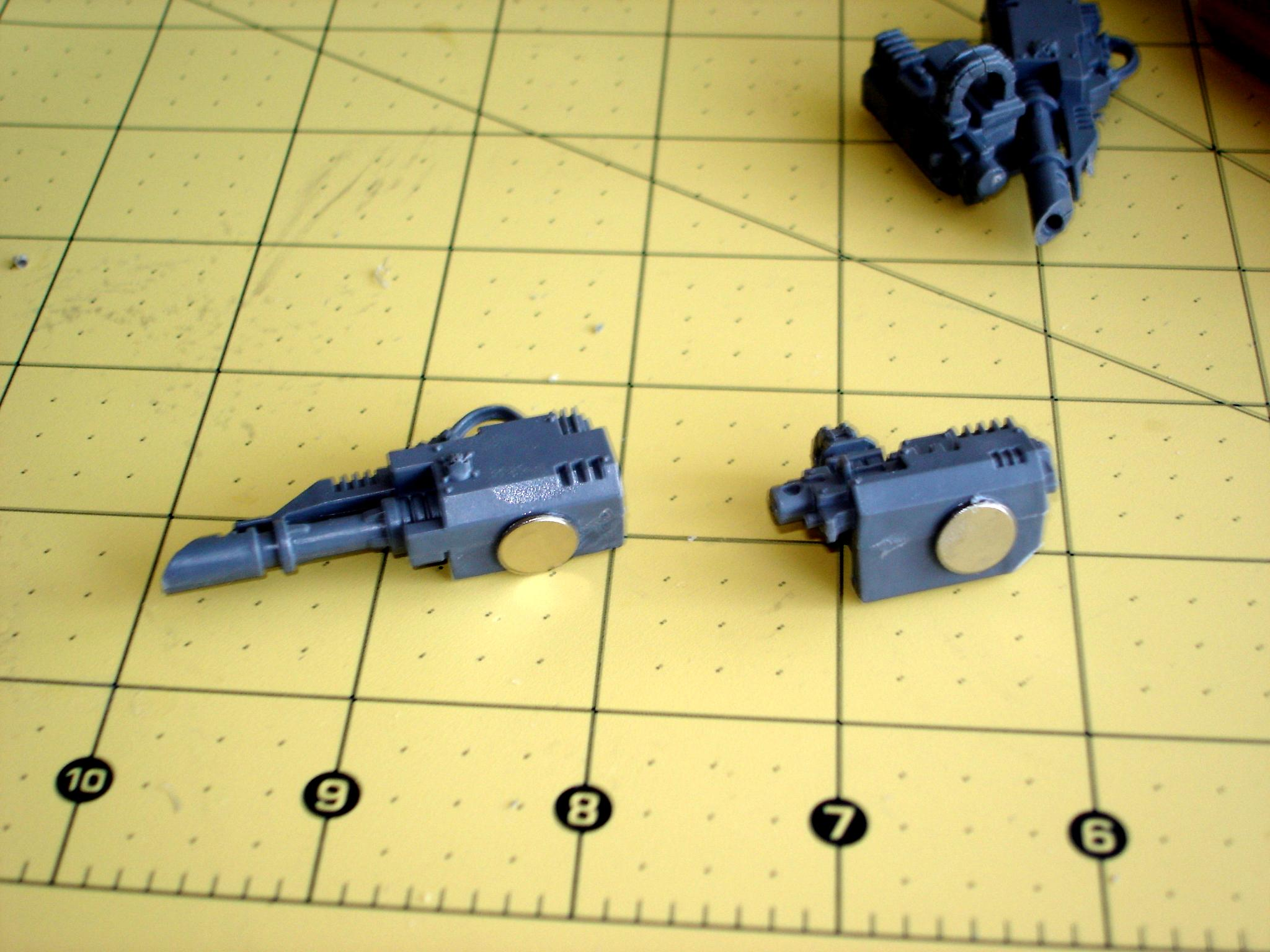 Magnetised weapons