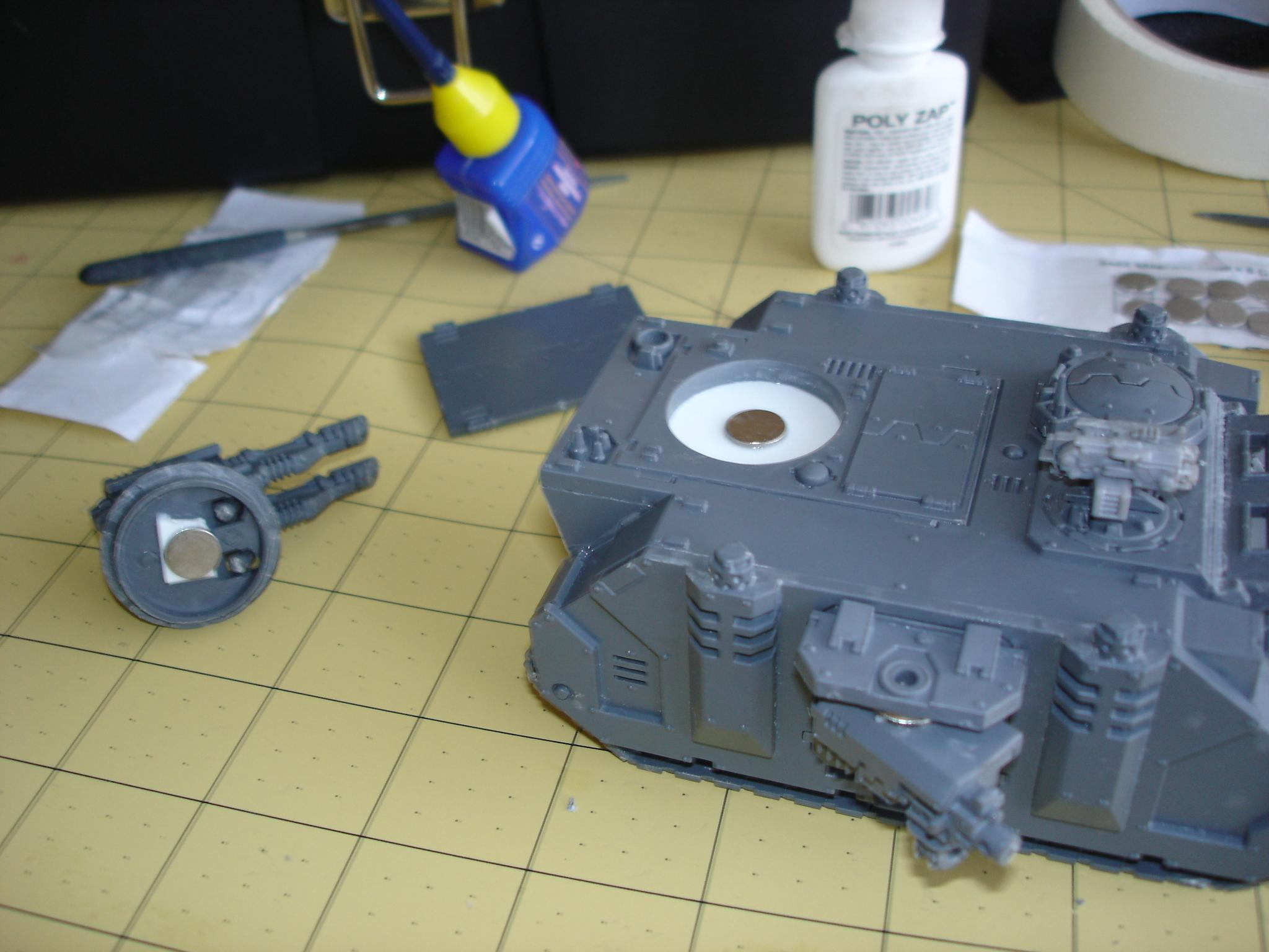 Razorback Turret Twin Las