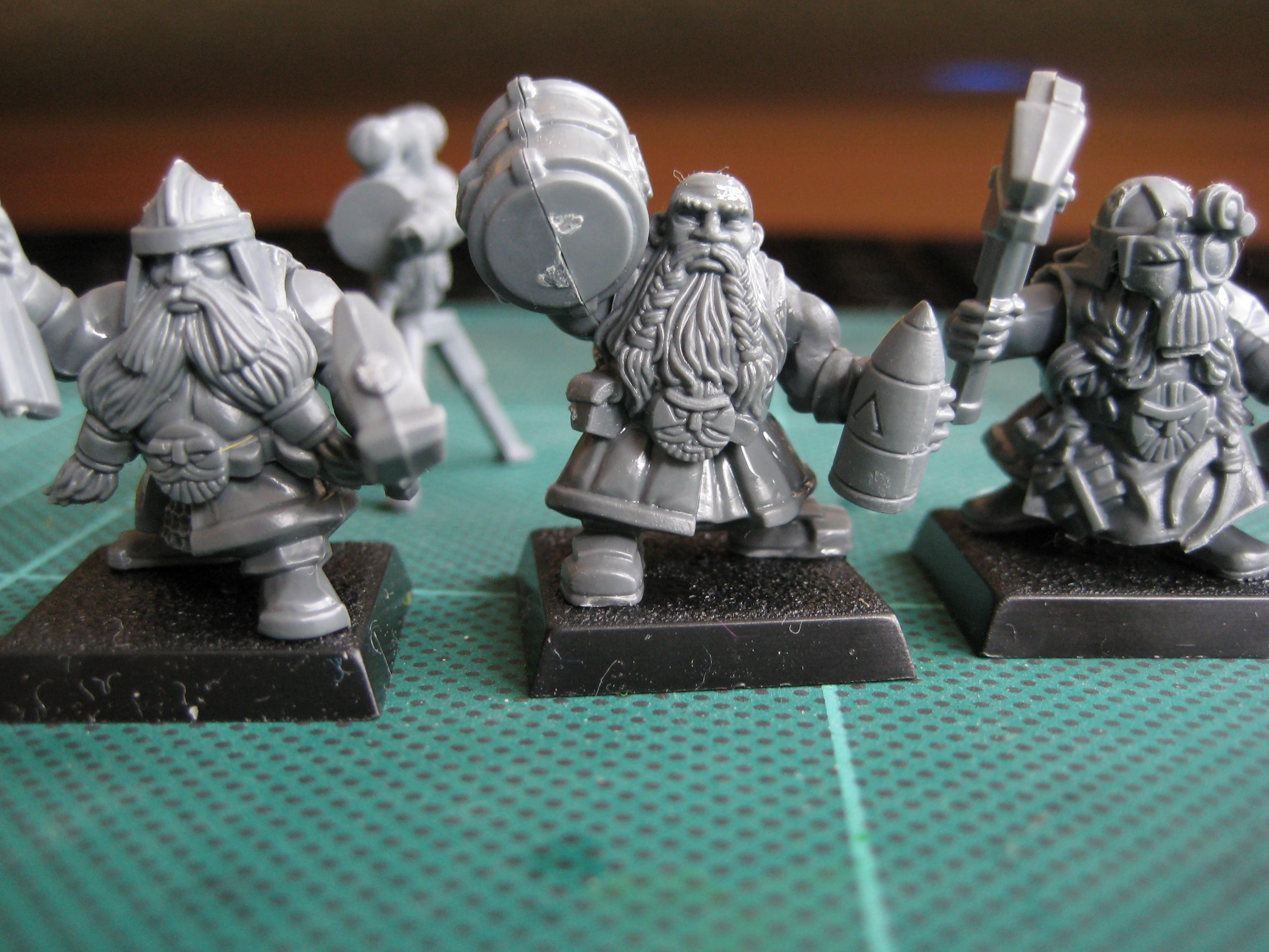 Dwarves, Gun Crew, Dwarf Gun Crew