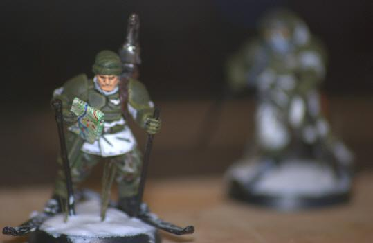 Extreme Detail, Imperial Guard, Map, Ski, Snow