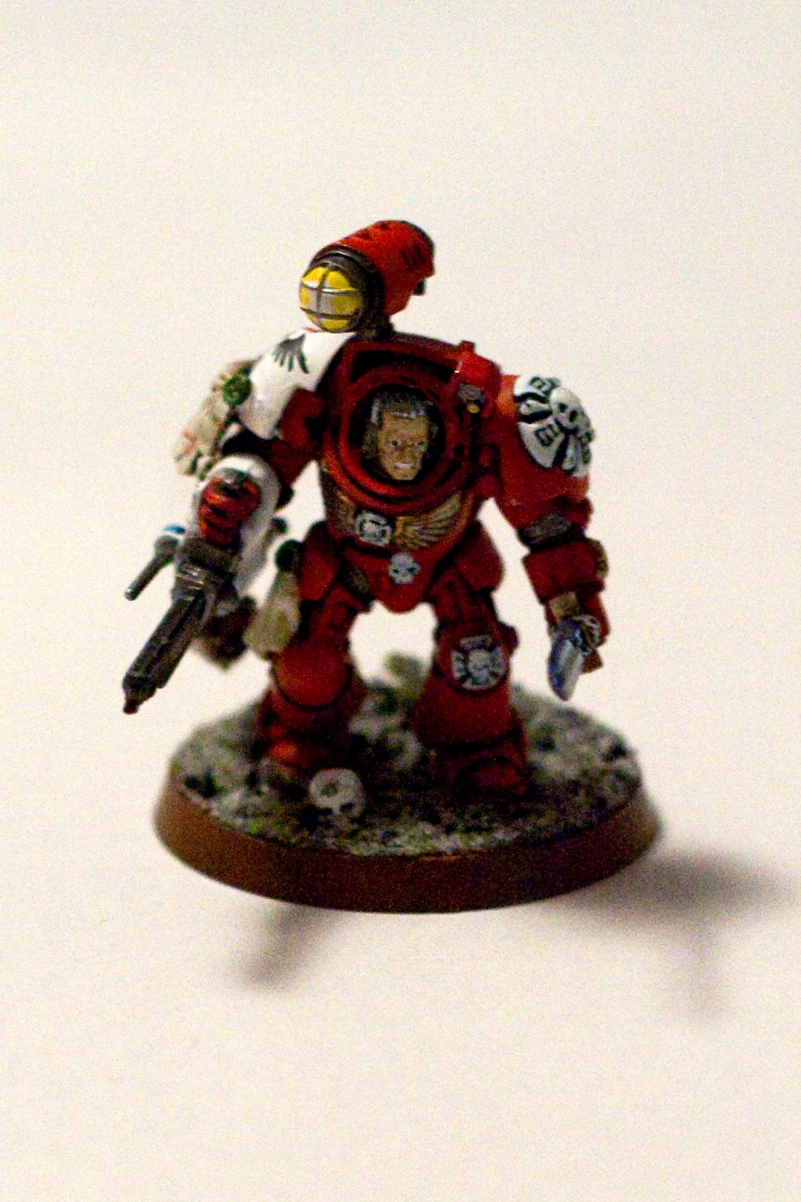 Blood Angels, Sanguinary Priest, Terminator Armor