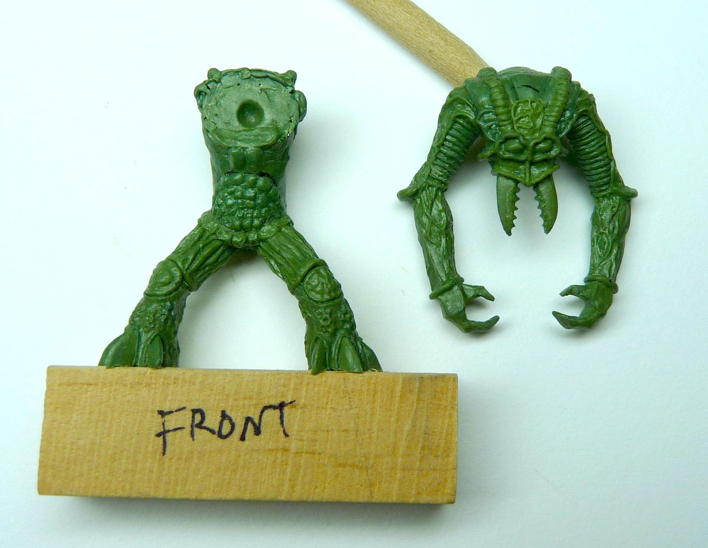 Ambull, Greenstuff, Sculpting