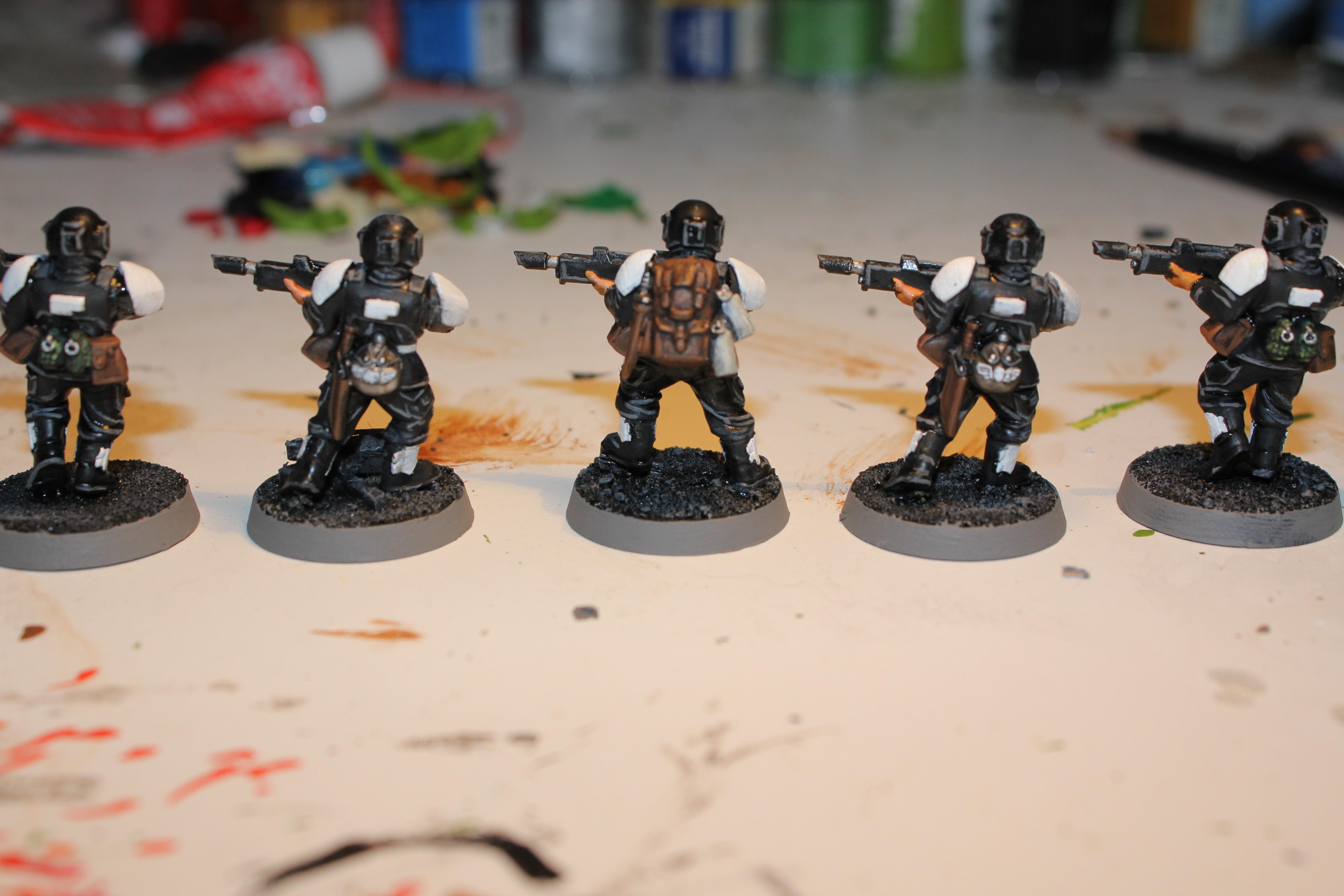 Imperial Guard, Nce Whites, Warhammer 40,000
