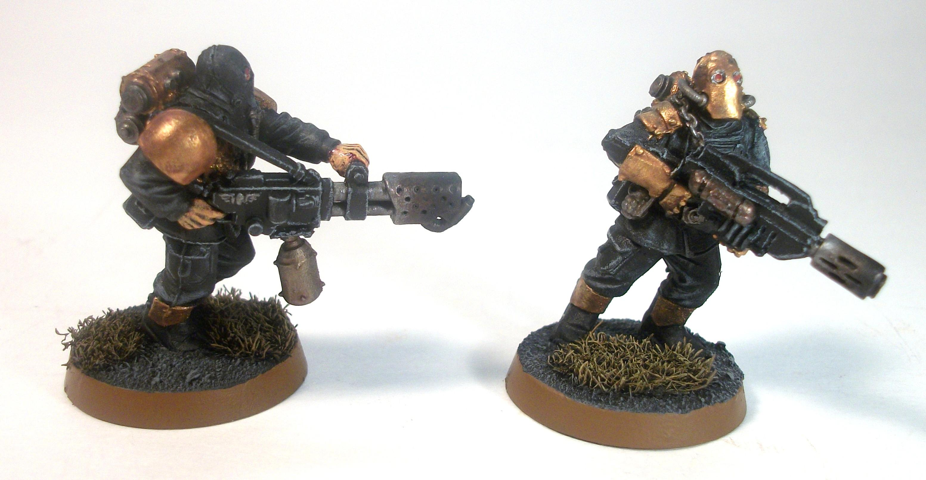 Armored Company, Chaos, Lost And The Damned, Militia, Renegades