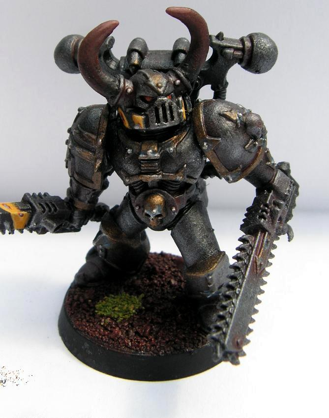 Berserks, Chaos Space Marines, Iron Warriors