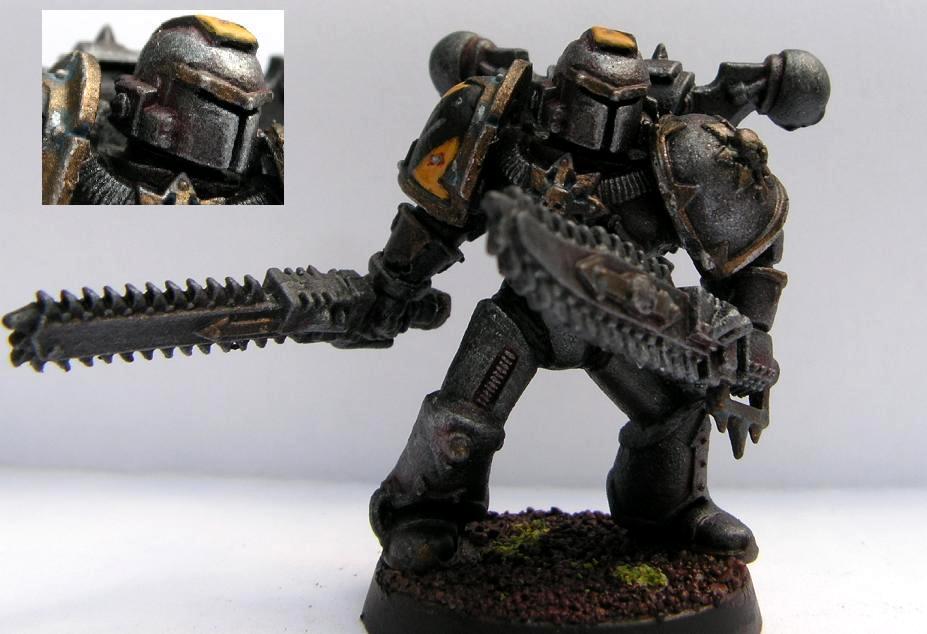 Berserks, Chaos Space Marines, Iron Warriors