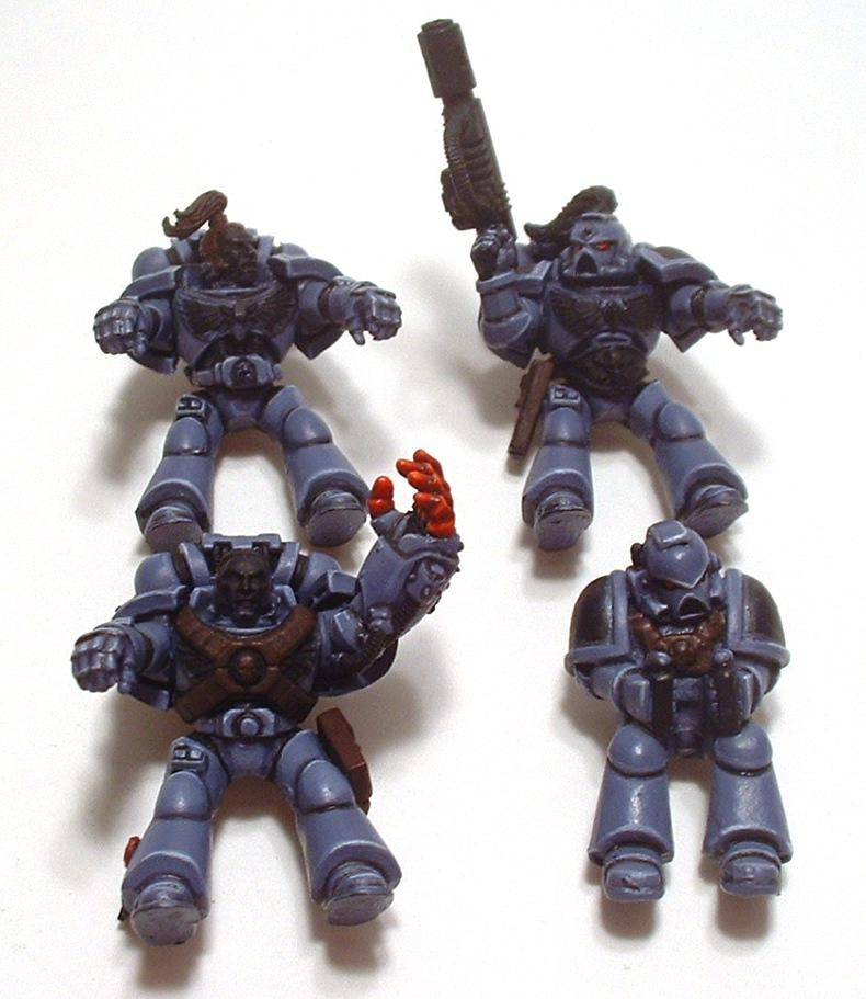 Attack Bikes, Bike, Space Marines, Space Wolves, Swift Claws, Warhammer 40,000
