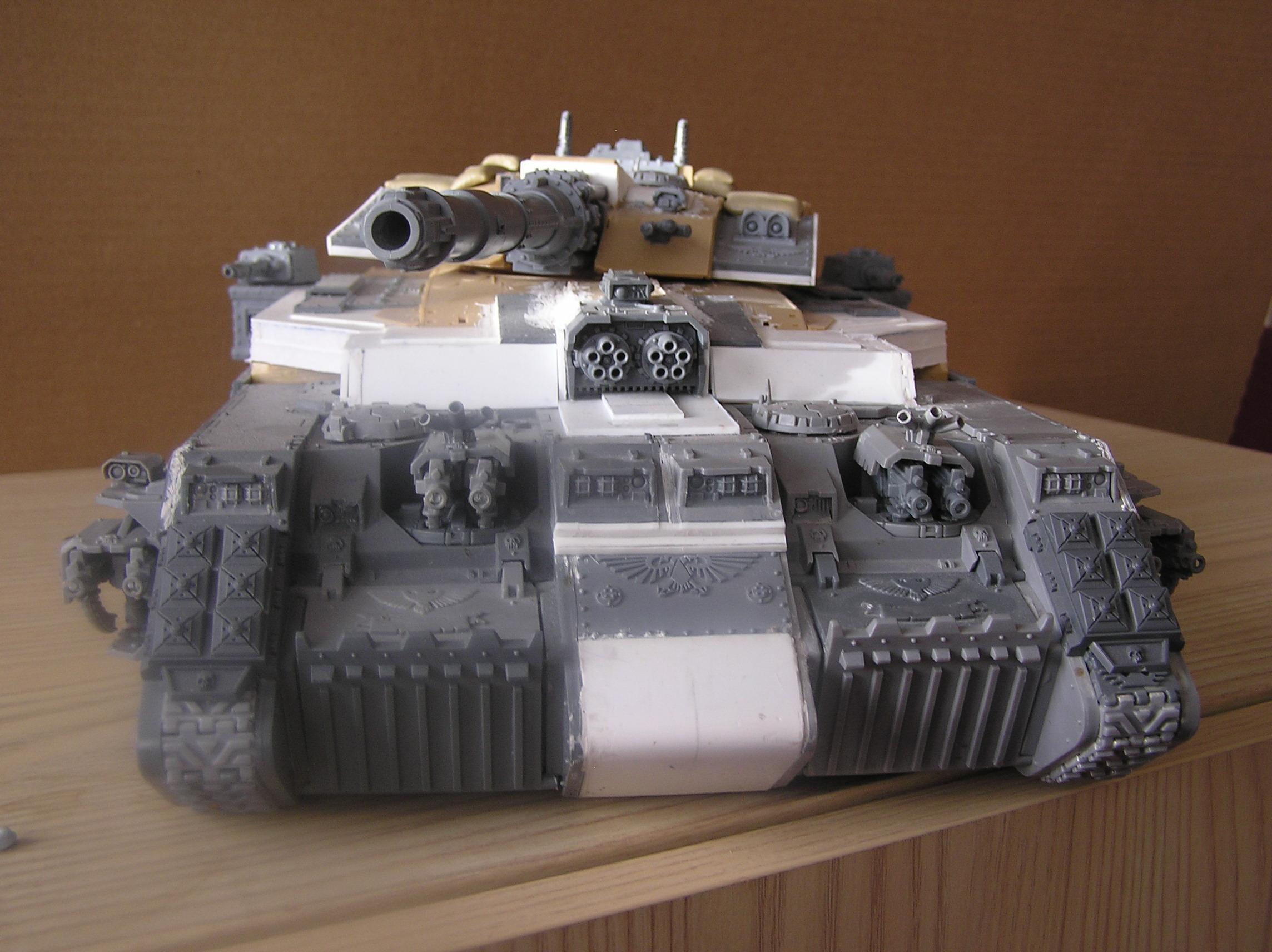 Big, Fortress, Huge, Land Raider, Space Marines, Superheavy Tank