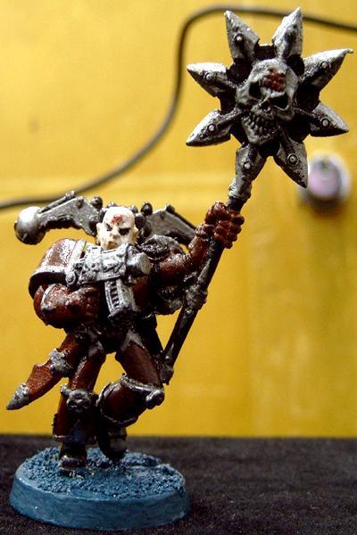 Berzerker, Chaos, Chaos Space Marines, Icon Bearer, Khorne, Khorne Berzerker, Warhammer 40,000
