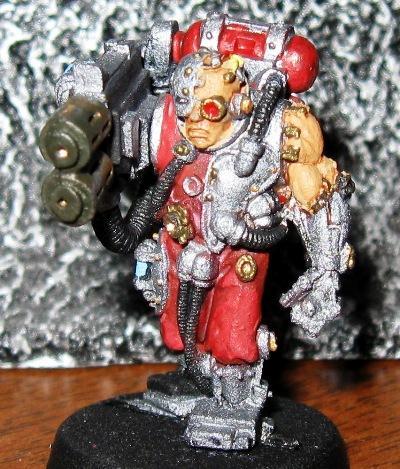 Inquisition, Gun Servitor with Multimelta