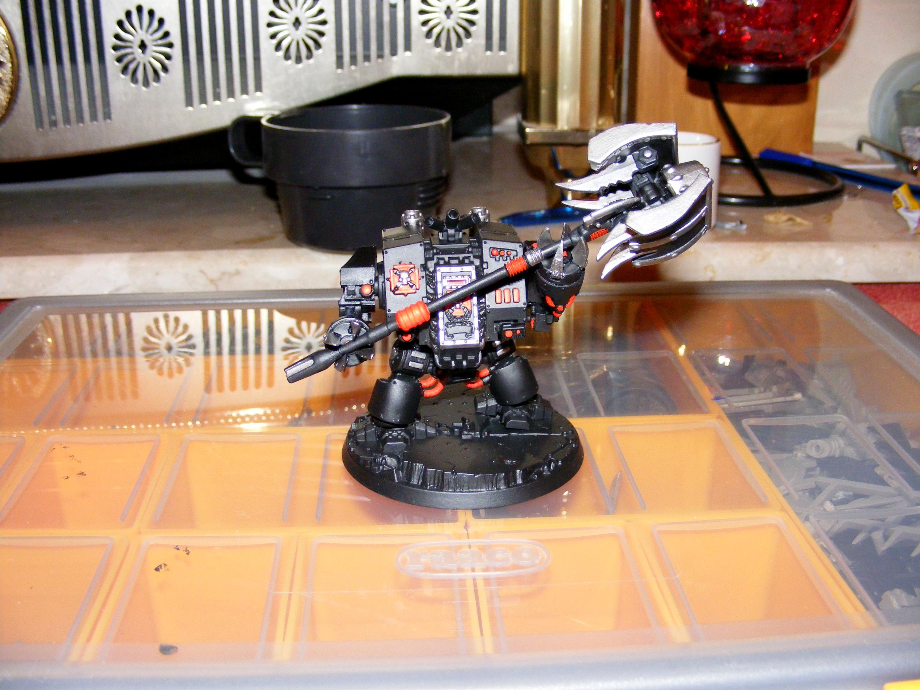 Custom, Custom Build, Dreadnought, Iron Clad, Ironclad, Scratch Build, Seismic Hammer, Space Marines, Work In Progress