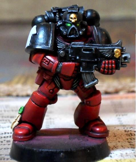 Blood Angels, Flesh Tearer, Space Marines, Tactical Squad