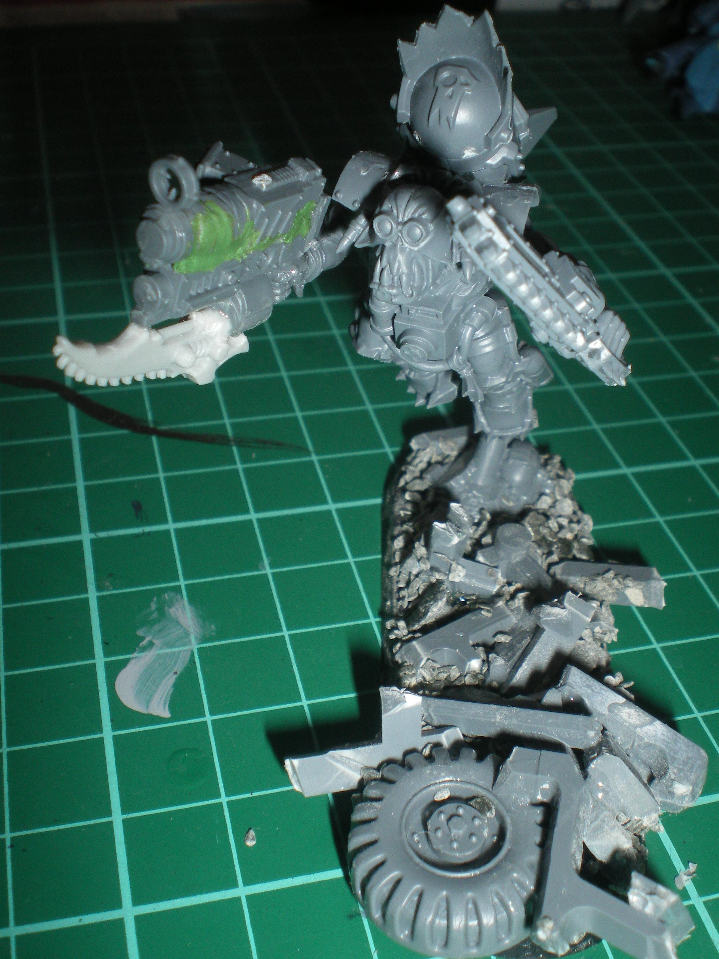 Ork with modified gun